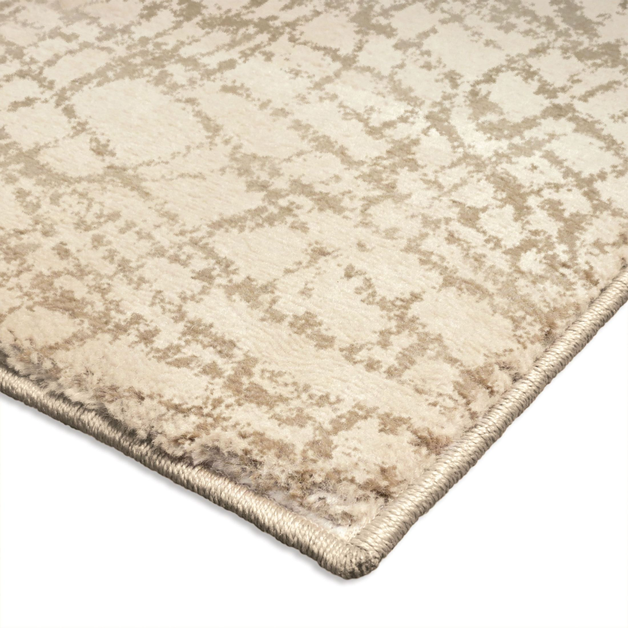 Orian Rugs Plush Abstract Uphill Ivory Area Small Rug
