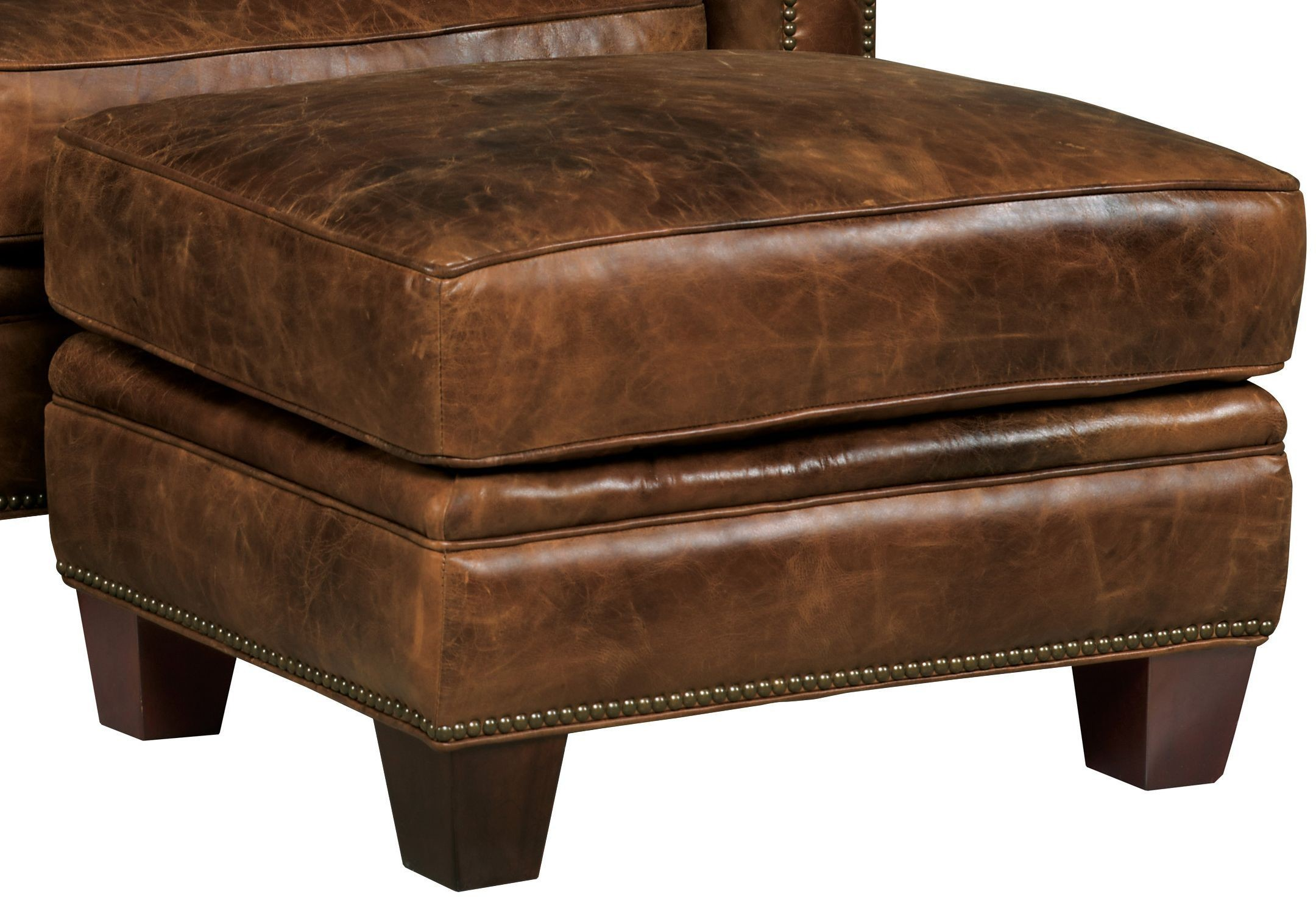 Chester Dark Walnut Leather Living Room Set From Hooker Coleman Furniture