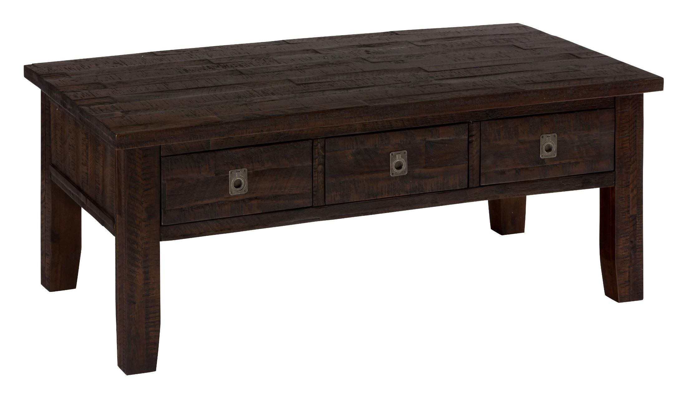 Kona Grove Rustic Chocolate Rectangular Cocktail Table
