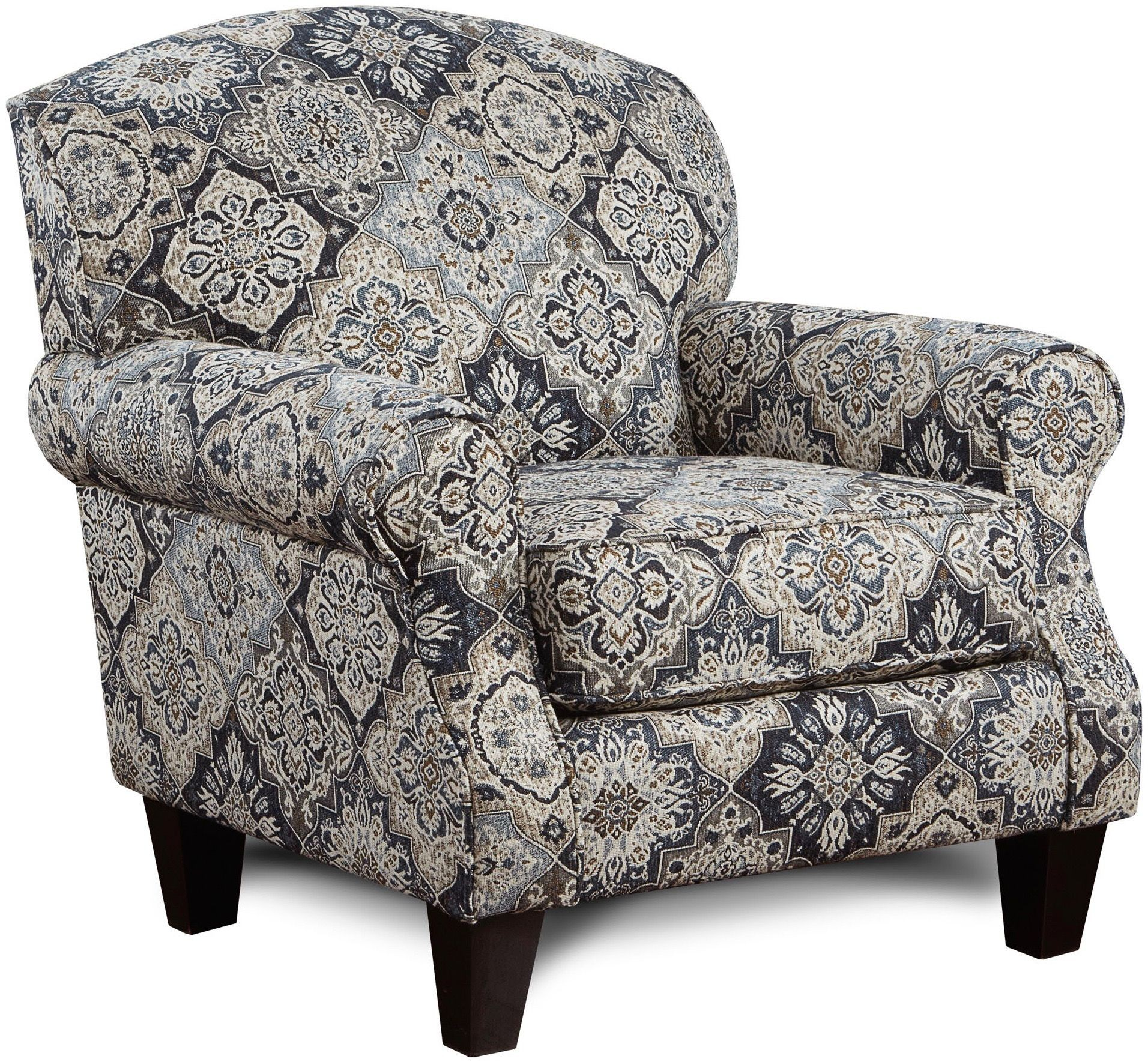 Whitaker Wheat Sambuca Cobalt Chair From Southern Motion