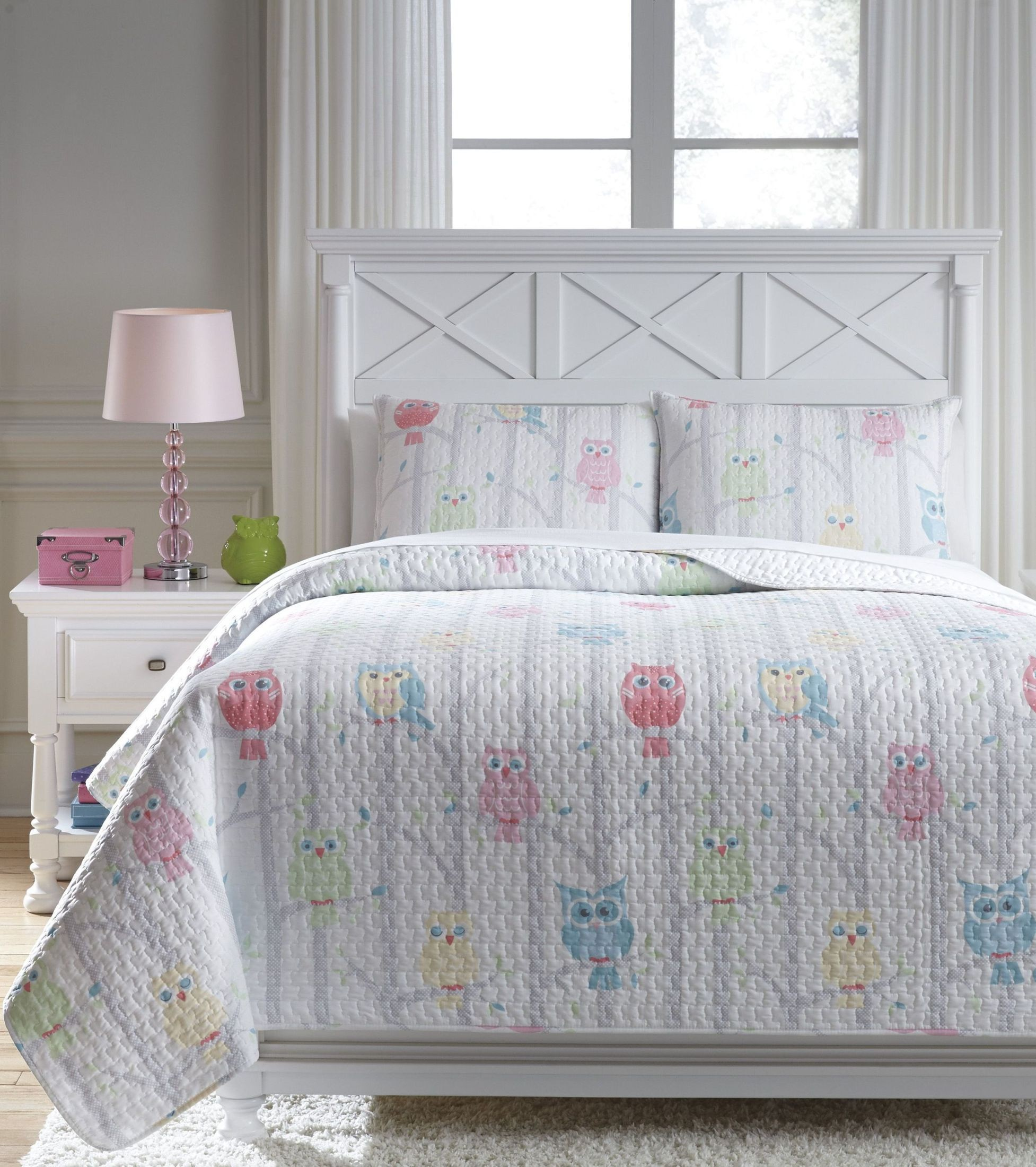 Lucille Multi Full Coverlet Set From Ashley Coleman