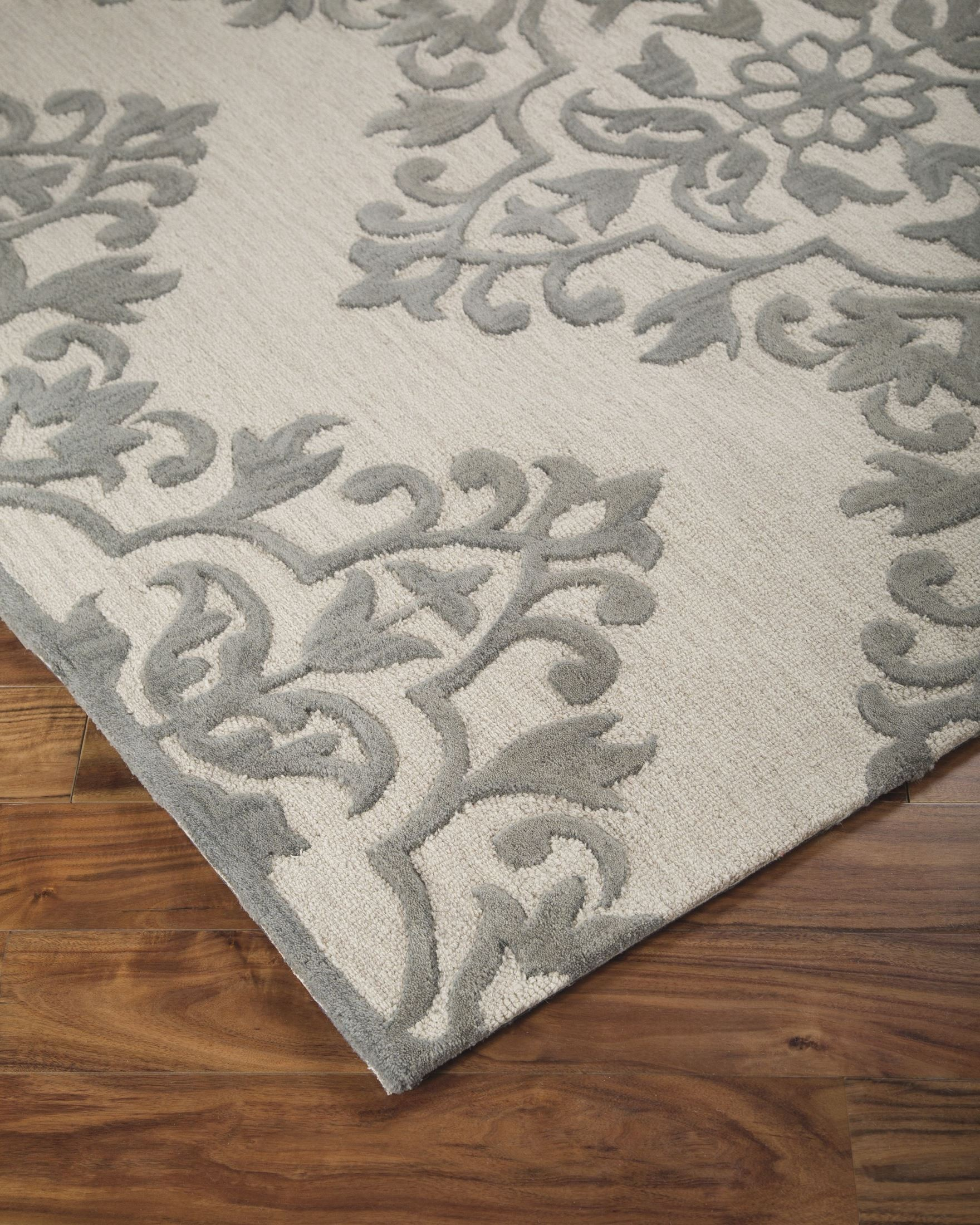 Bafferts Tan And Gray Large Rug From Ashley R400441