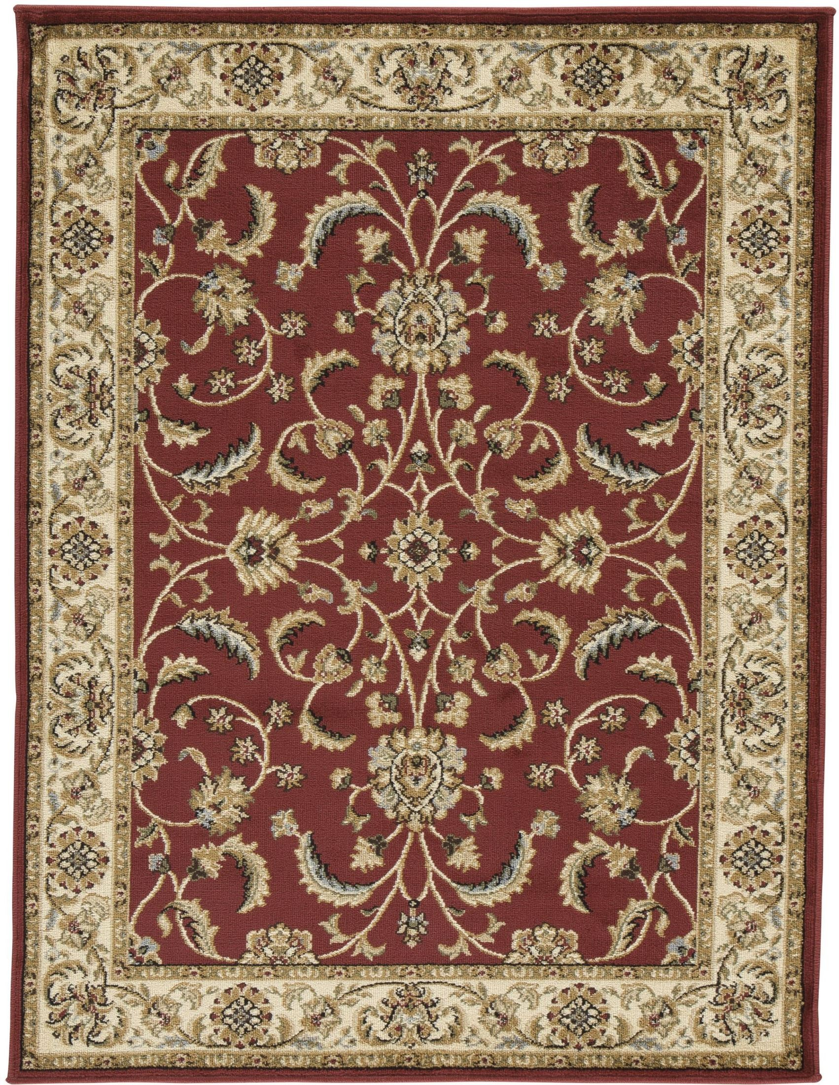 jamirah red and brown medium rug from ashley coleman furniture. Black Bedroom Furniture Sets. Home Design Ideas
