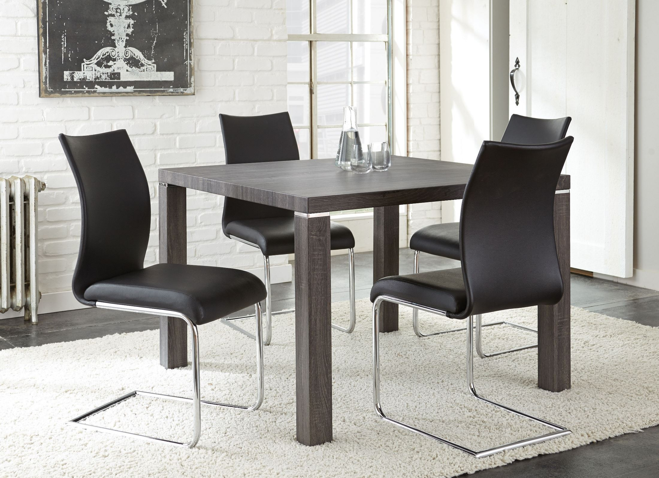 Randall Charcoal Gray Dining Room Set From Steve Silver