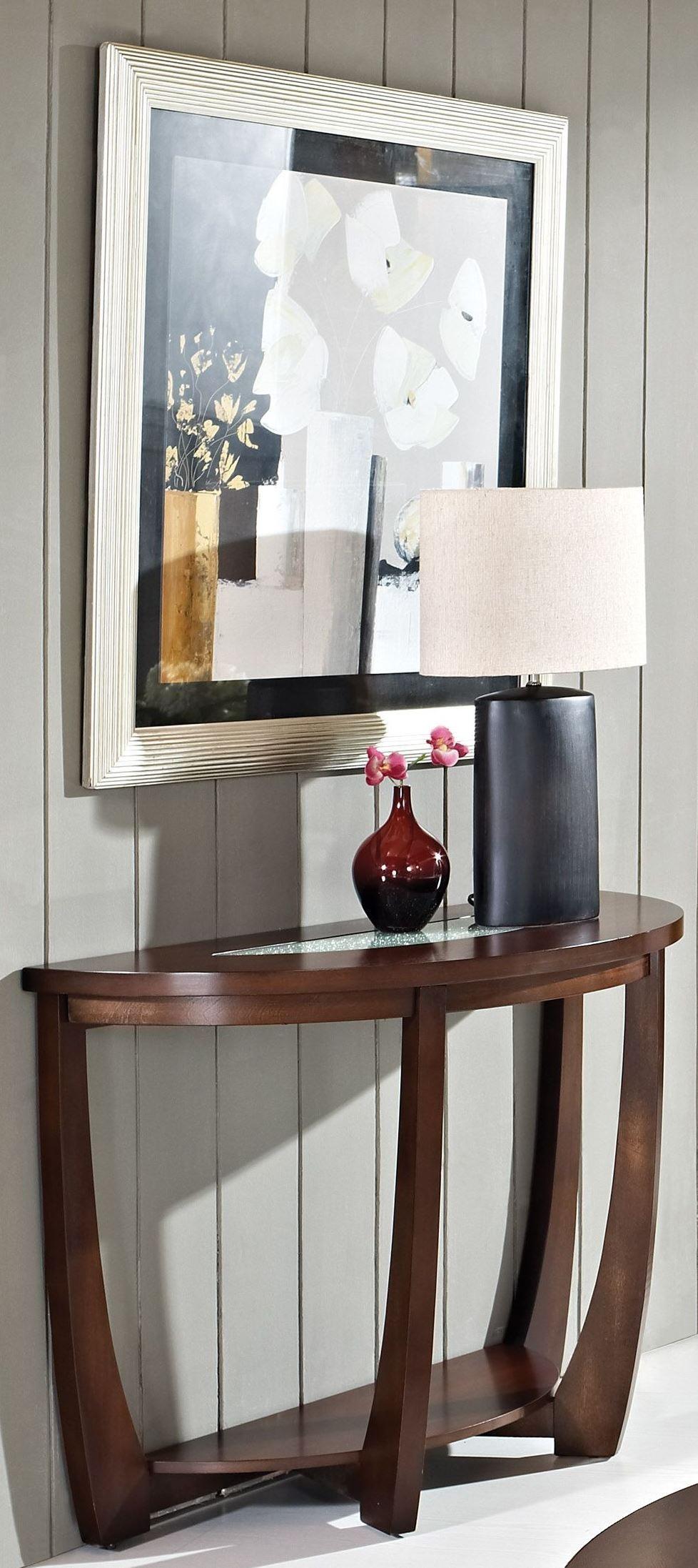 cherry sofa table. Rafael Merlot Cherry Sofa Table