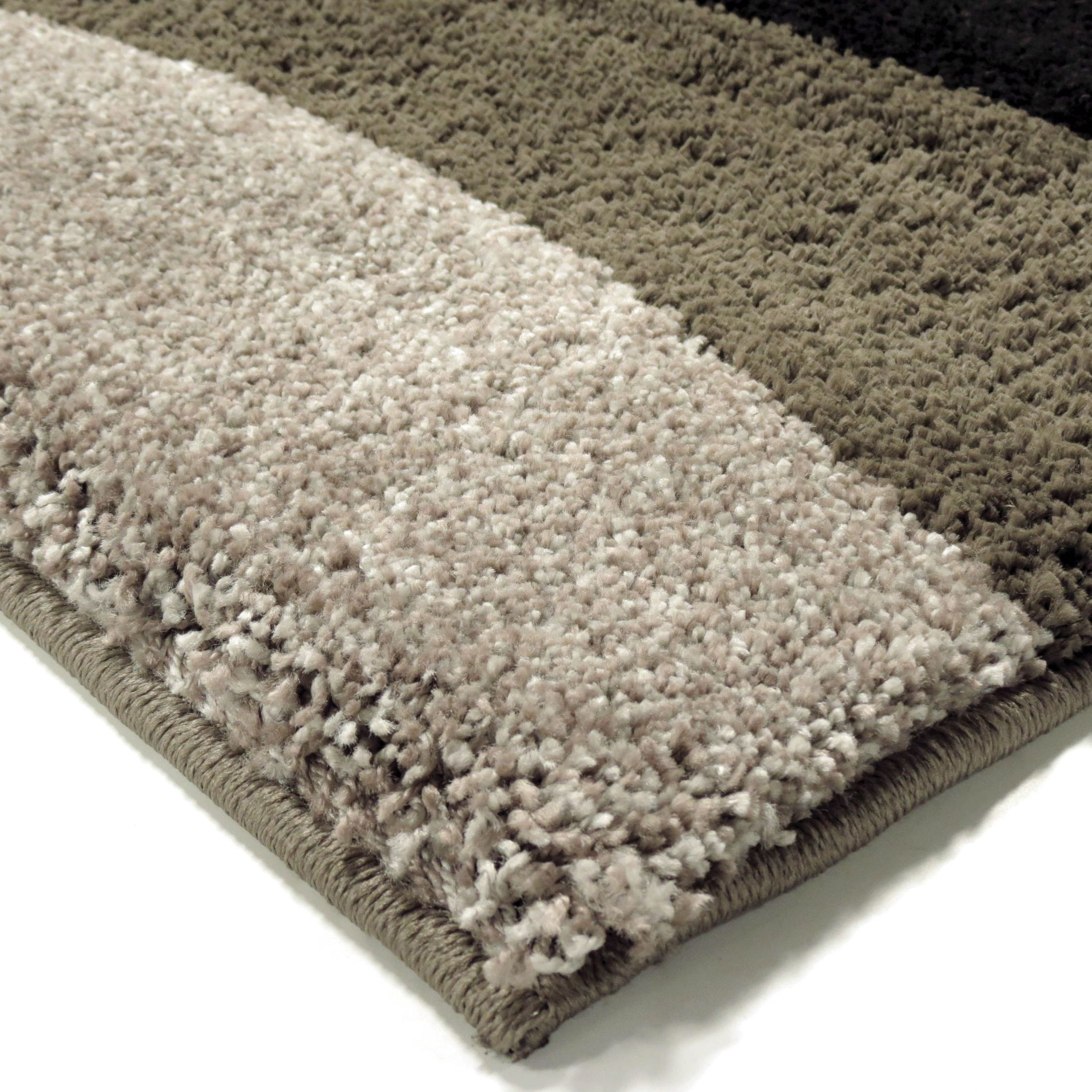 Plush Dusk Rug: Orian Rugs Plush Waves Flume Black Area Small Rug, 3623