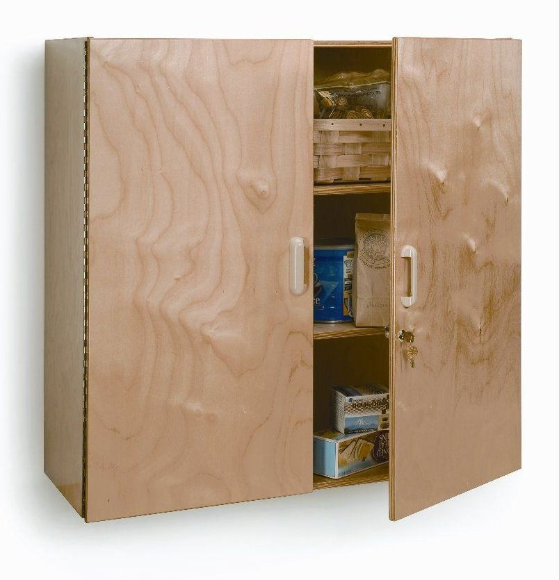 Lockable Wall Cabinet from Whitney Brothers (WB3535 ...