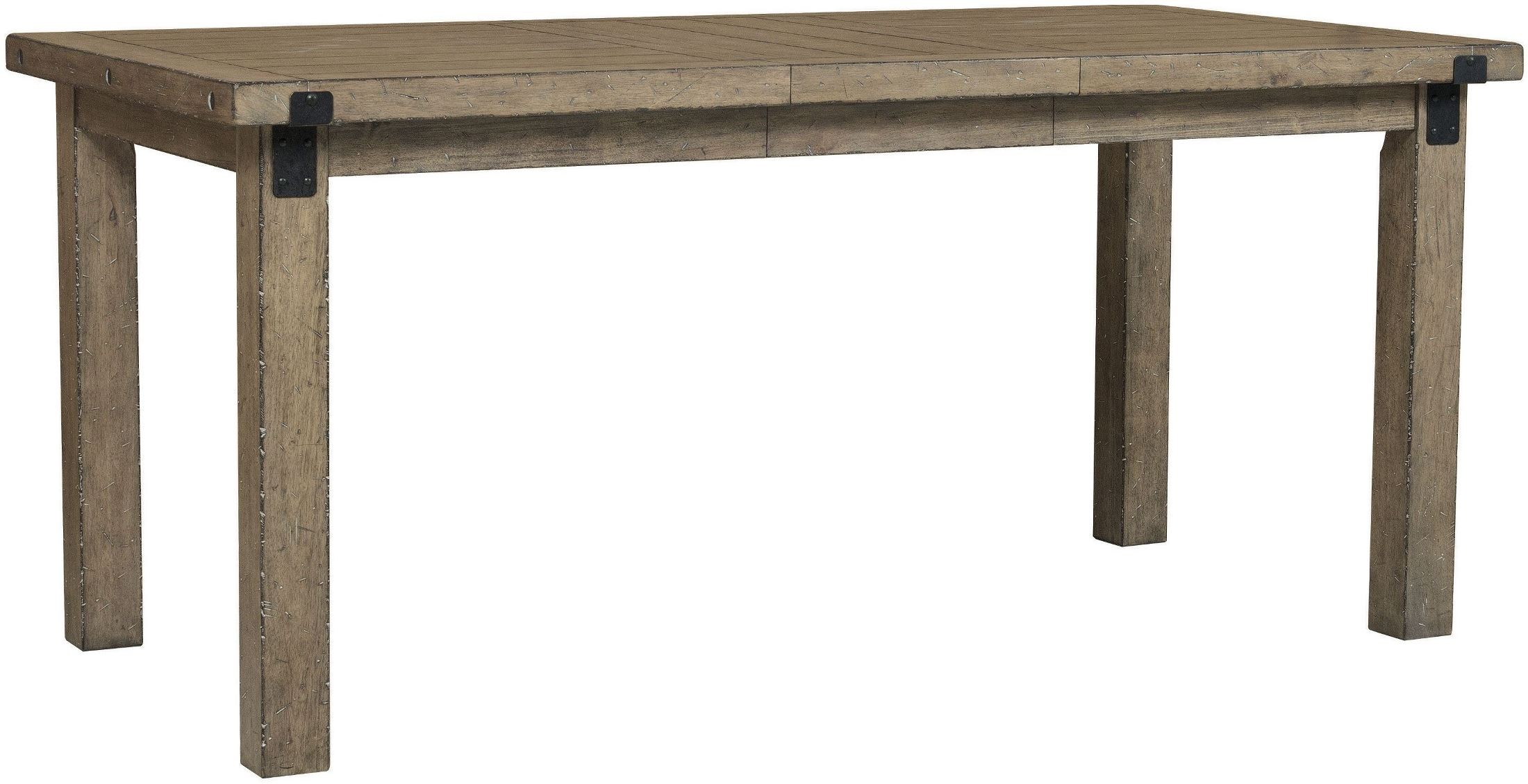 Flatbush brown rectangular counter height dining table from samuel lawrence coleman furniture - Rectangular dining table for 6 ...