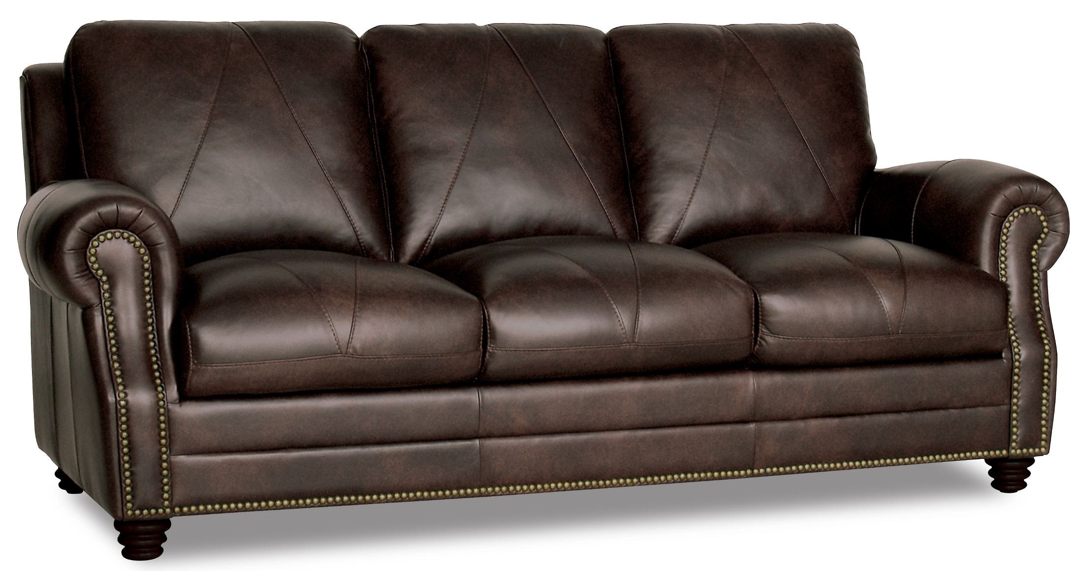 Solomon italian leather sofa from luke leather coleman for Italian leather sofa
