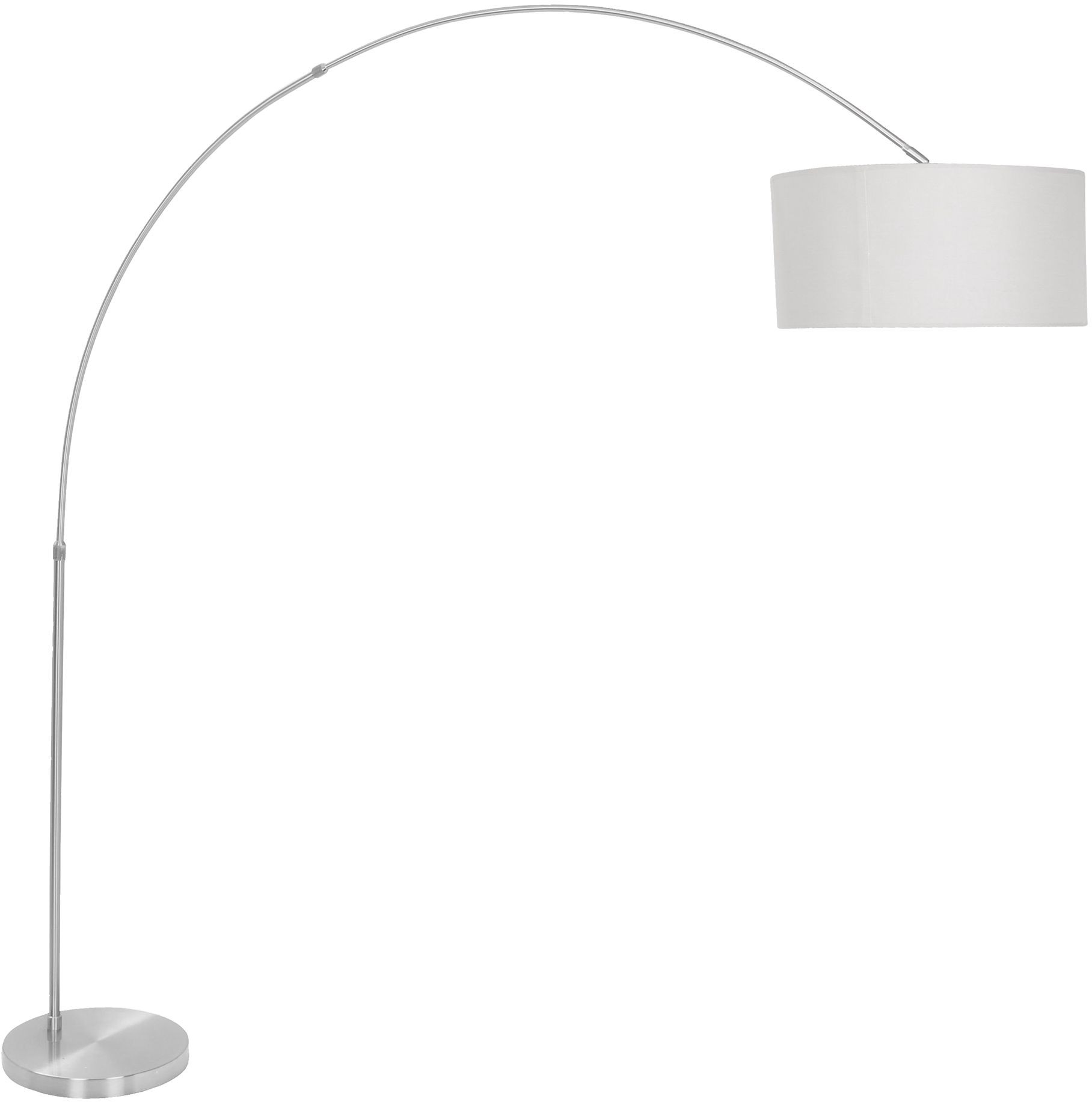 Salon gray floor lamp from lumisource coleman furniture for Lumisource salon floor lamp in white