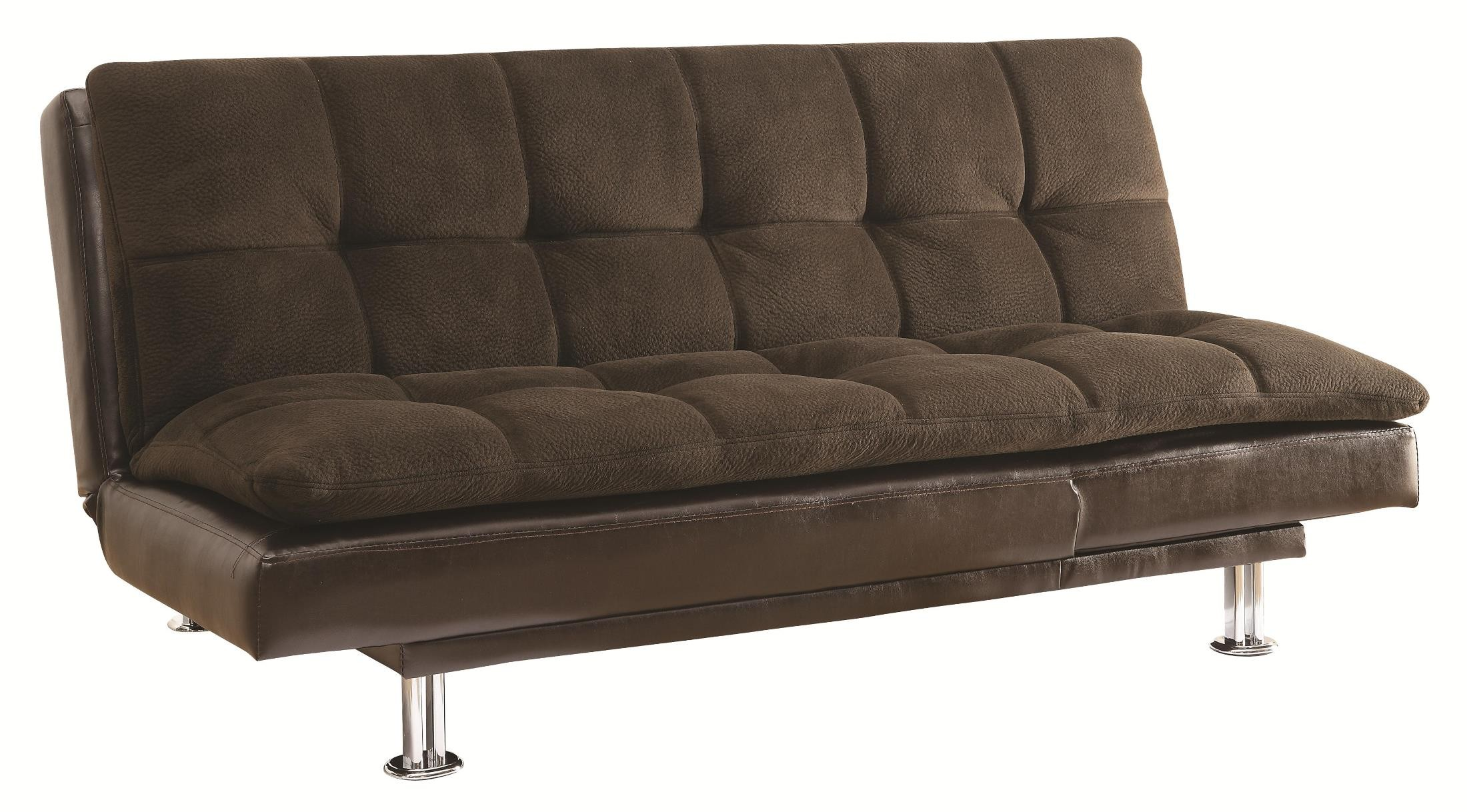 300313 futon sofa bed from coaster 300313 coleman furniture