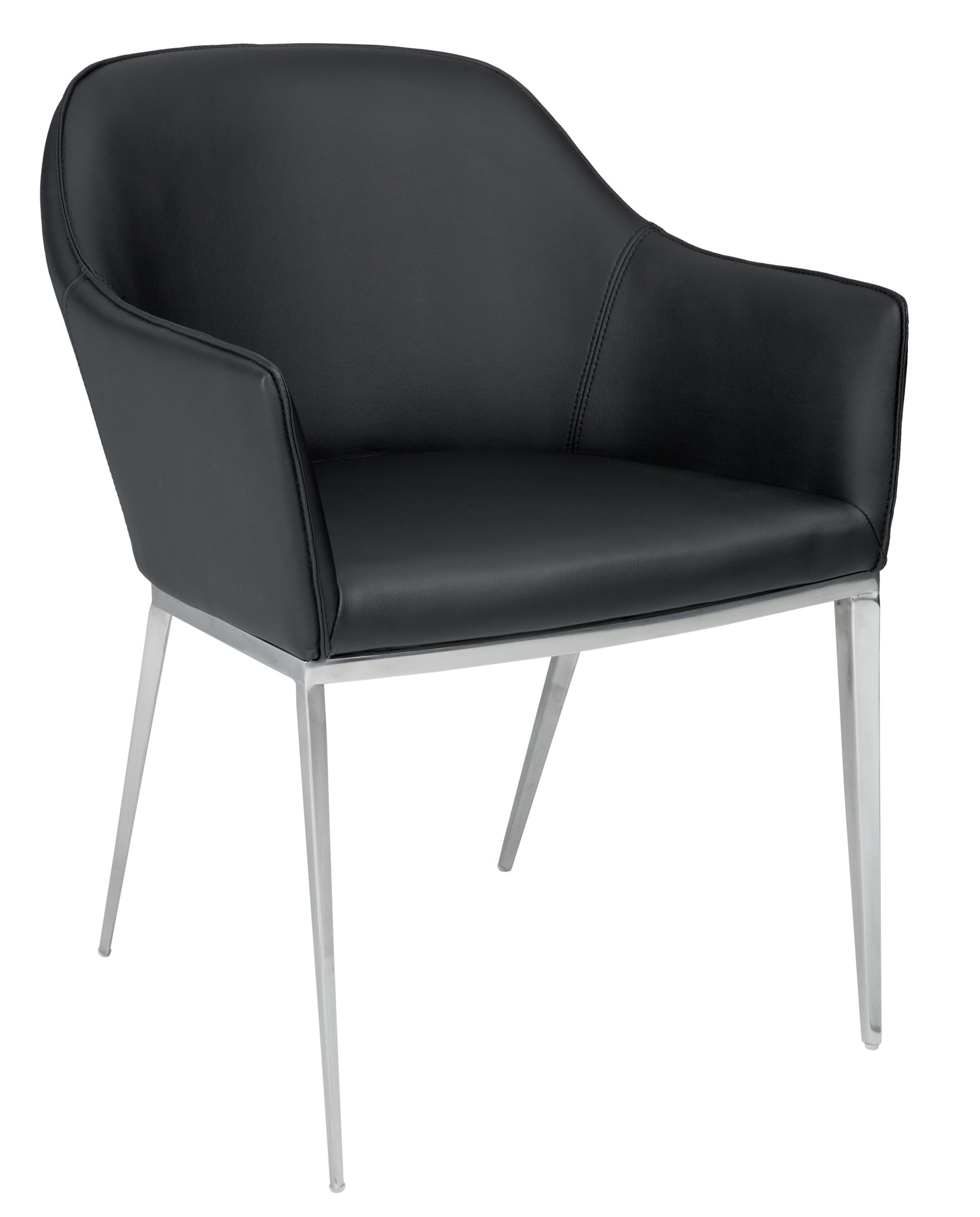 Stanis Black Armchair From Sunpan 13022 Coleman Furniture
