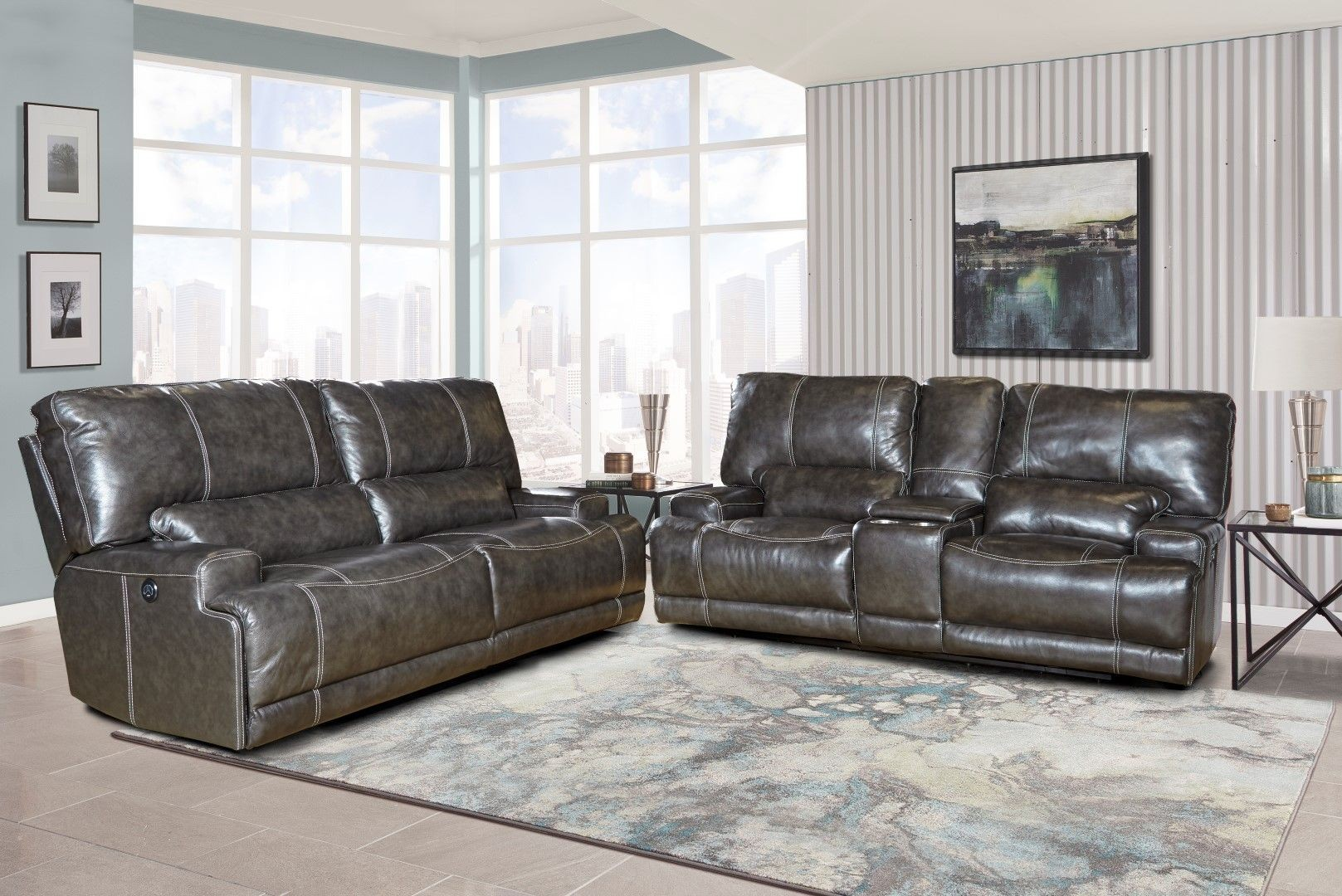 Steele Twilight Power Reclining Living Room Set from Parker Living ...