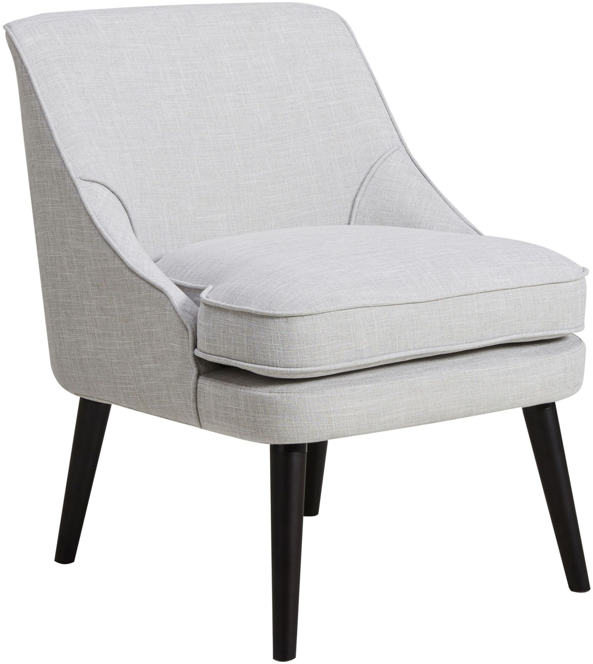 Grey upholstered accent chair from pulaski coleman furniture