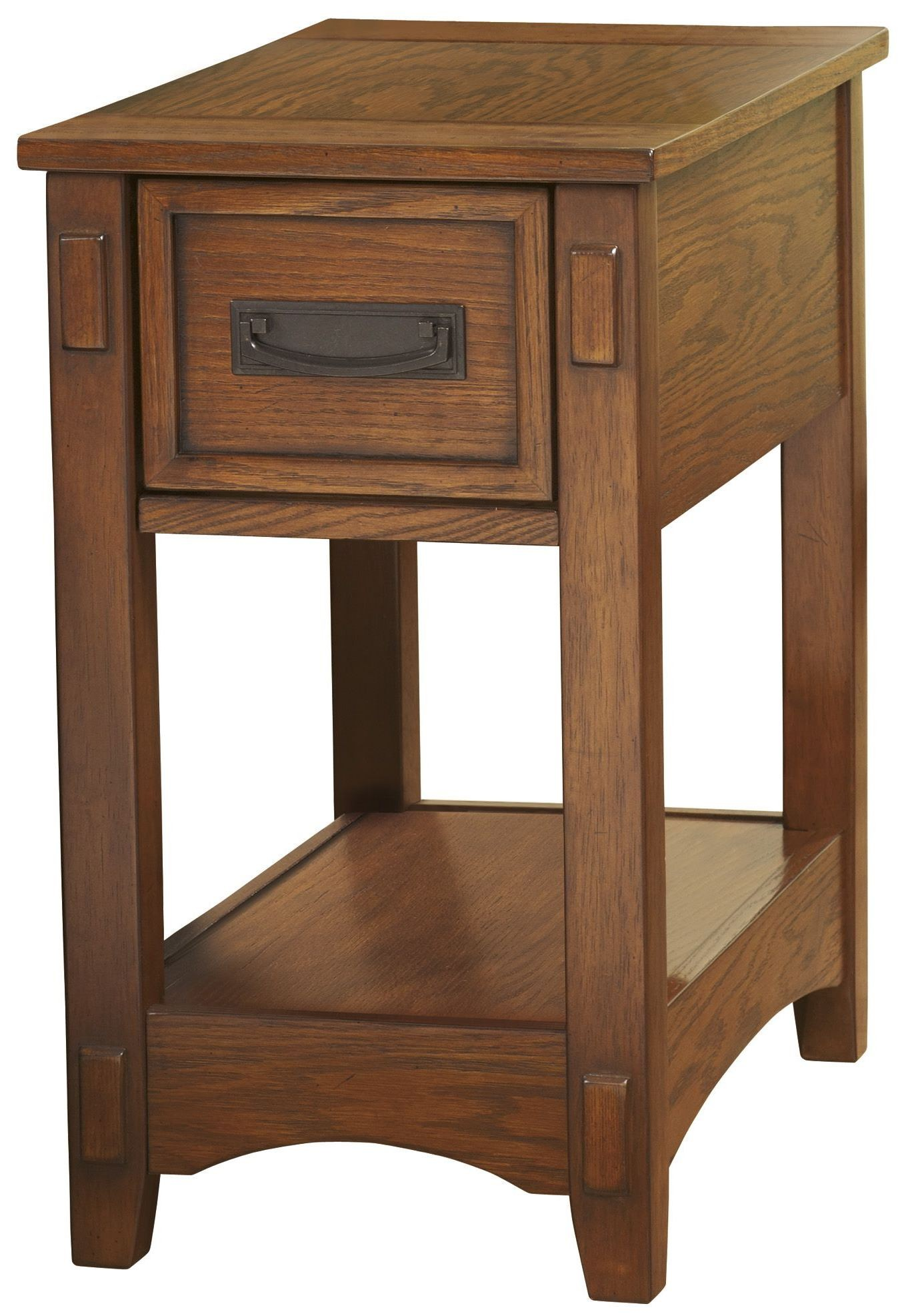 Chairside End Program Chair Side Drawer End Table From