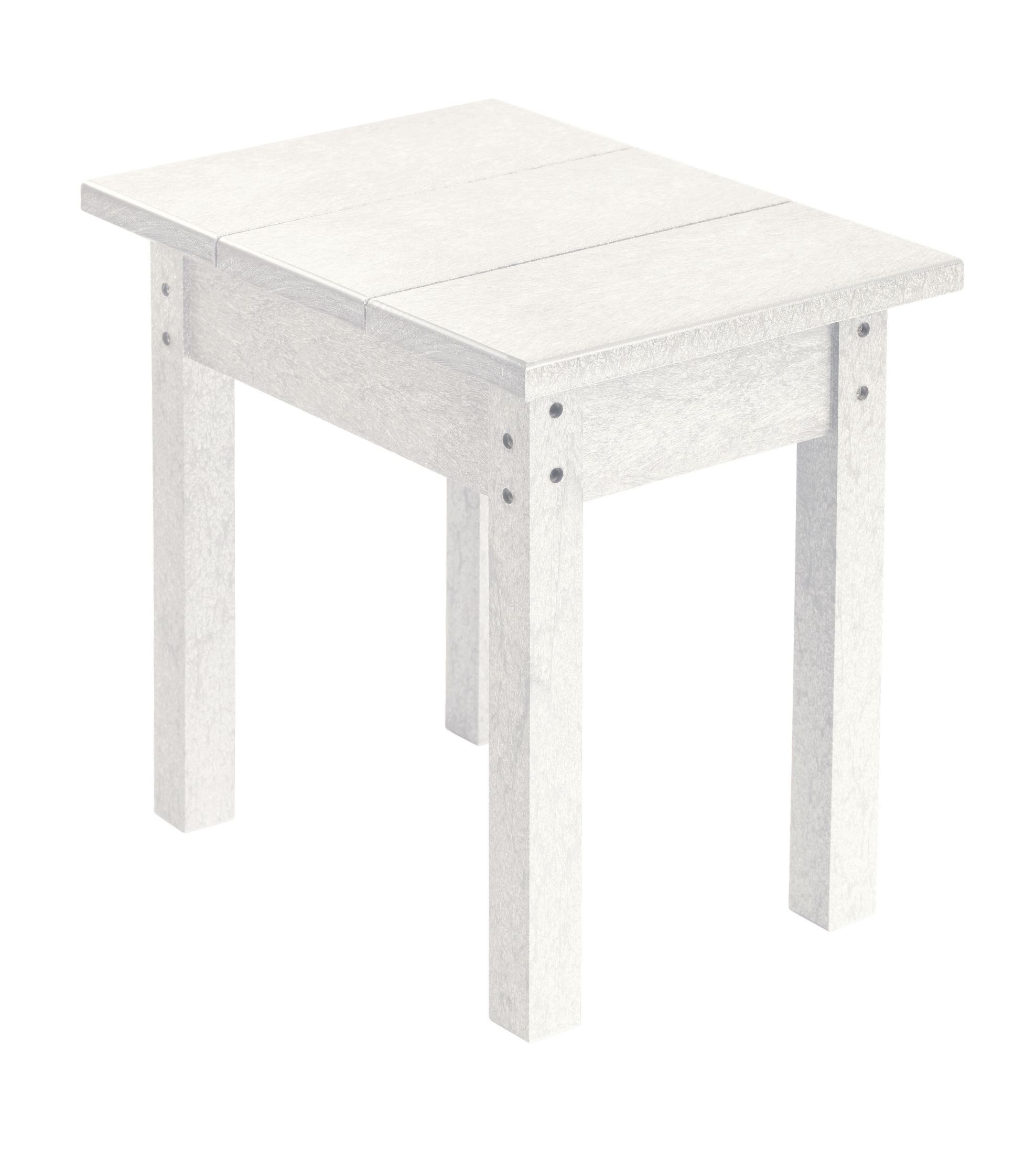 Generations White Small Side Table From CR Plastic (T01-02
