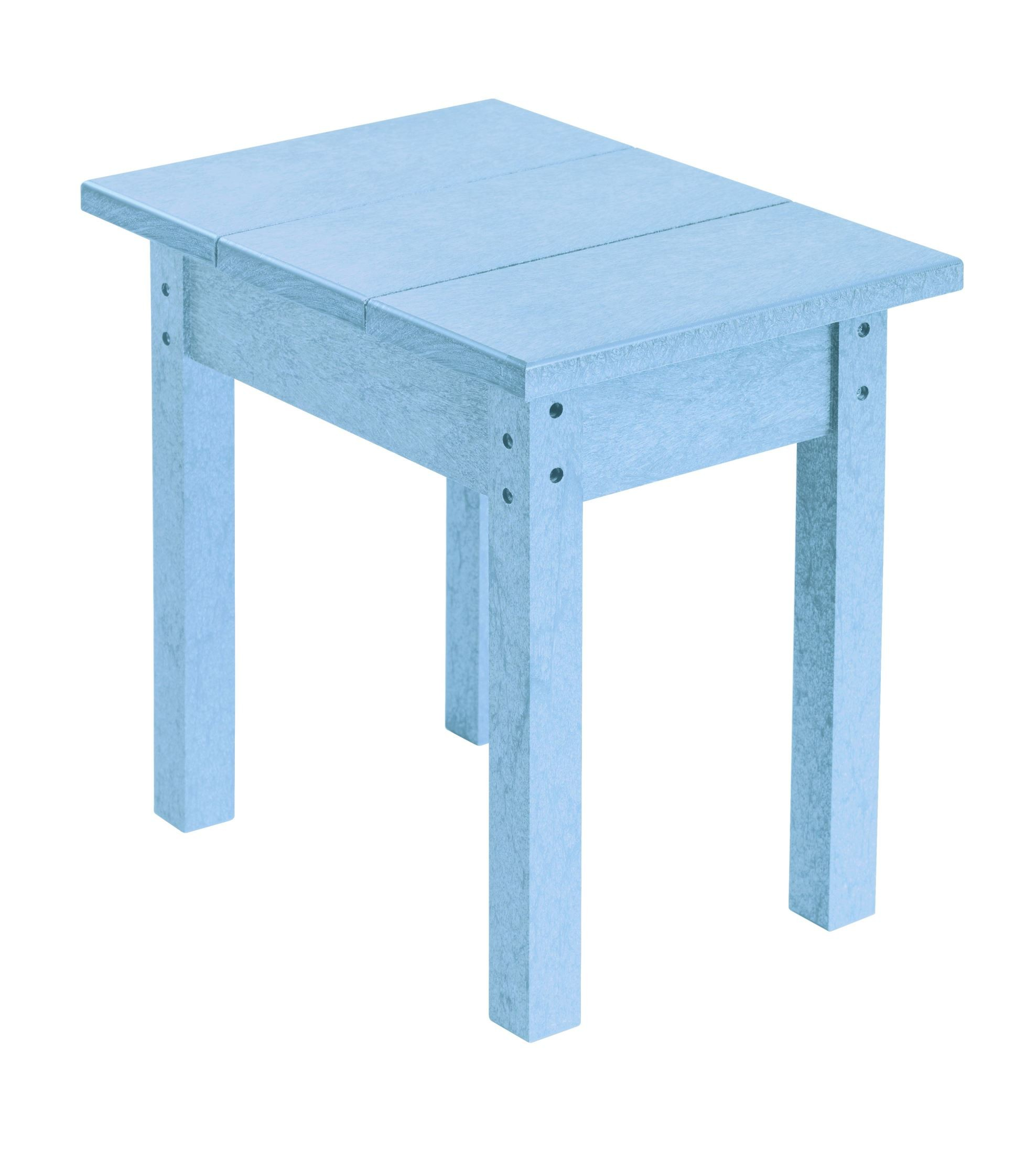 Generations Sky Blue Small Side Table From Cr Plastic T01