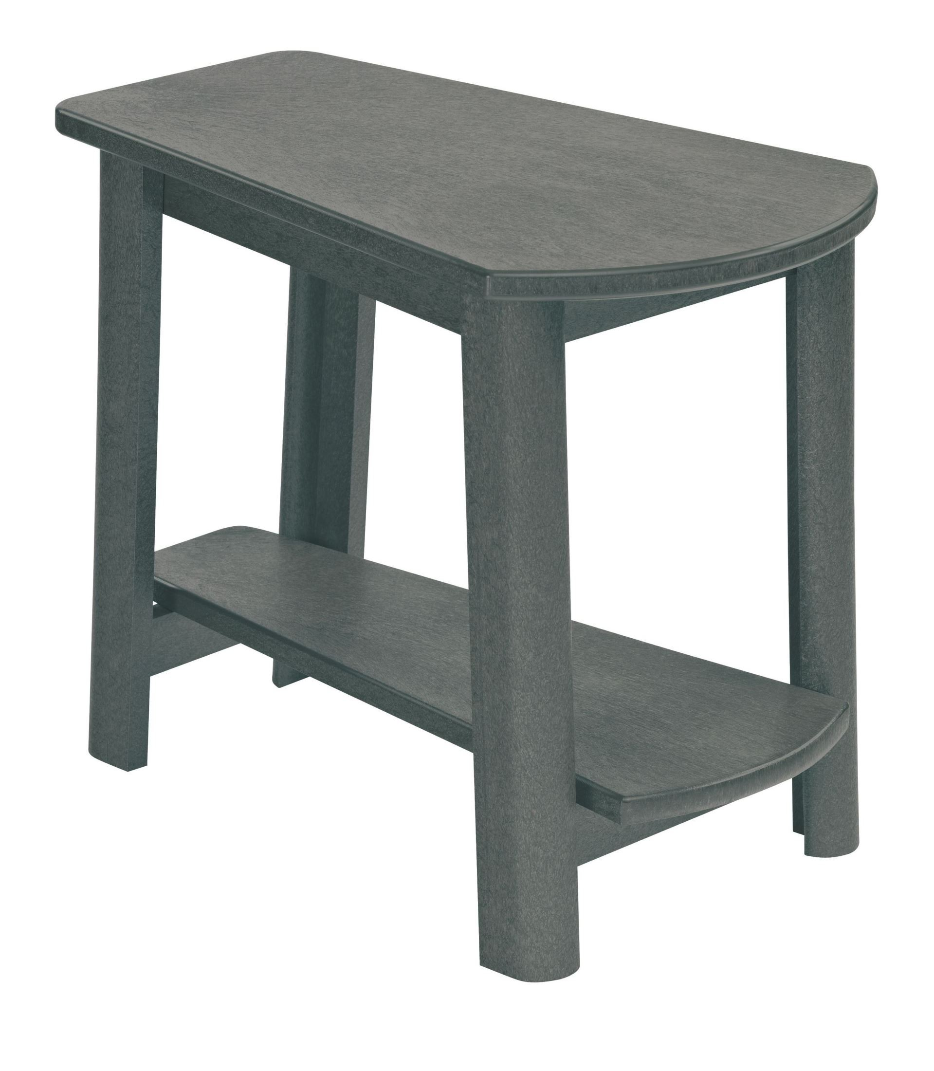 Generations slate tapered accent table from cr plastic