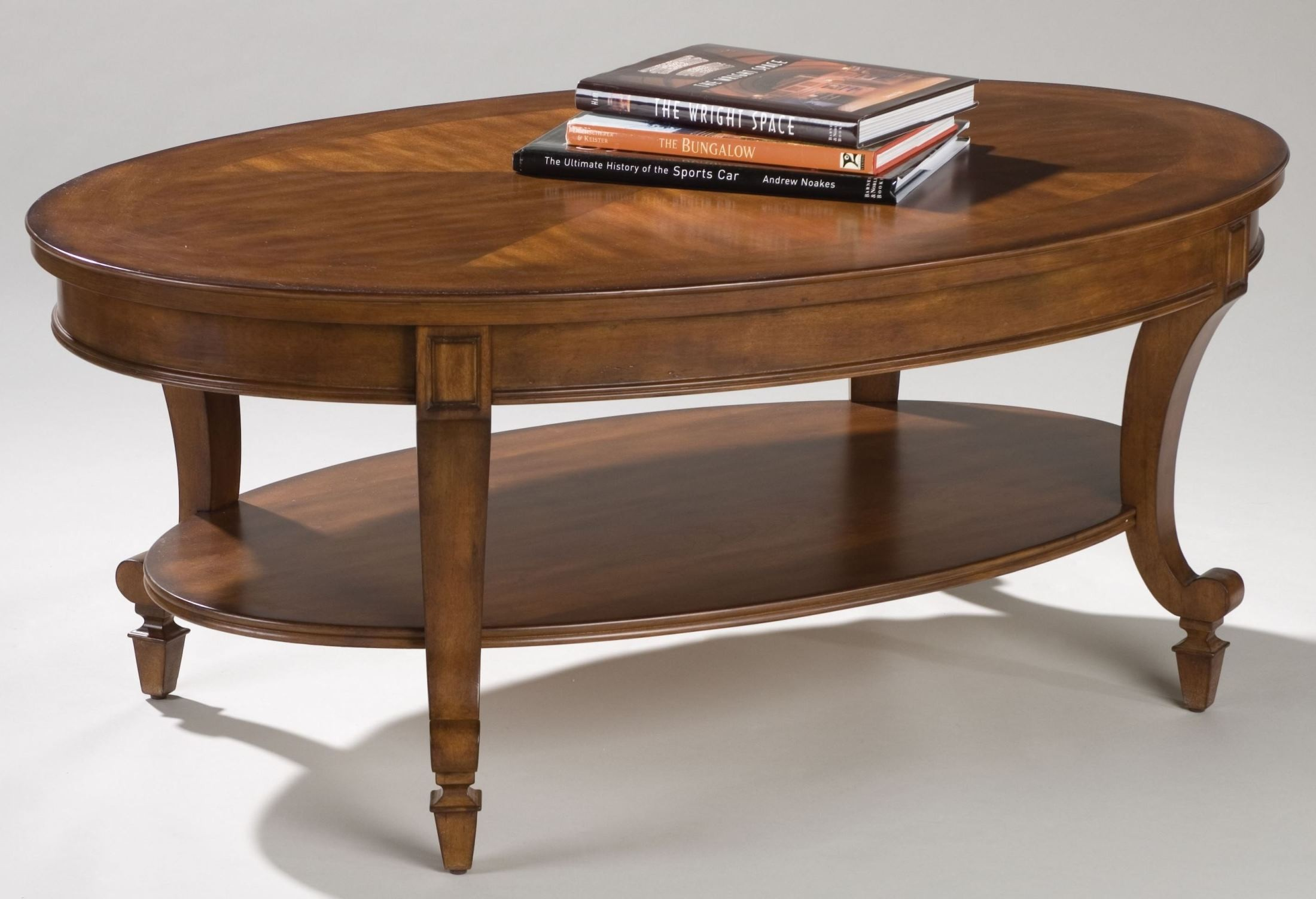 Aidan oval cocktail table from magnussen home t1052 47 for Cocktail table 47