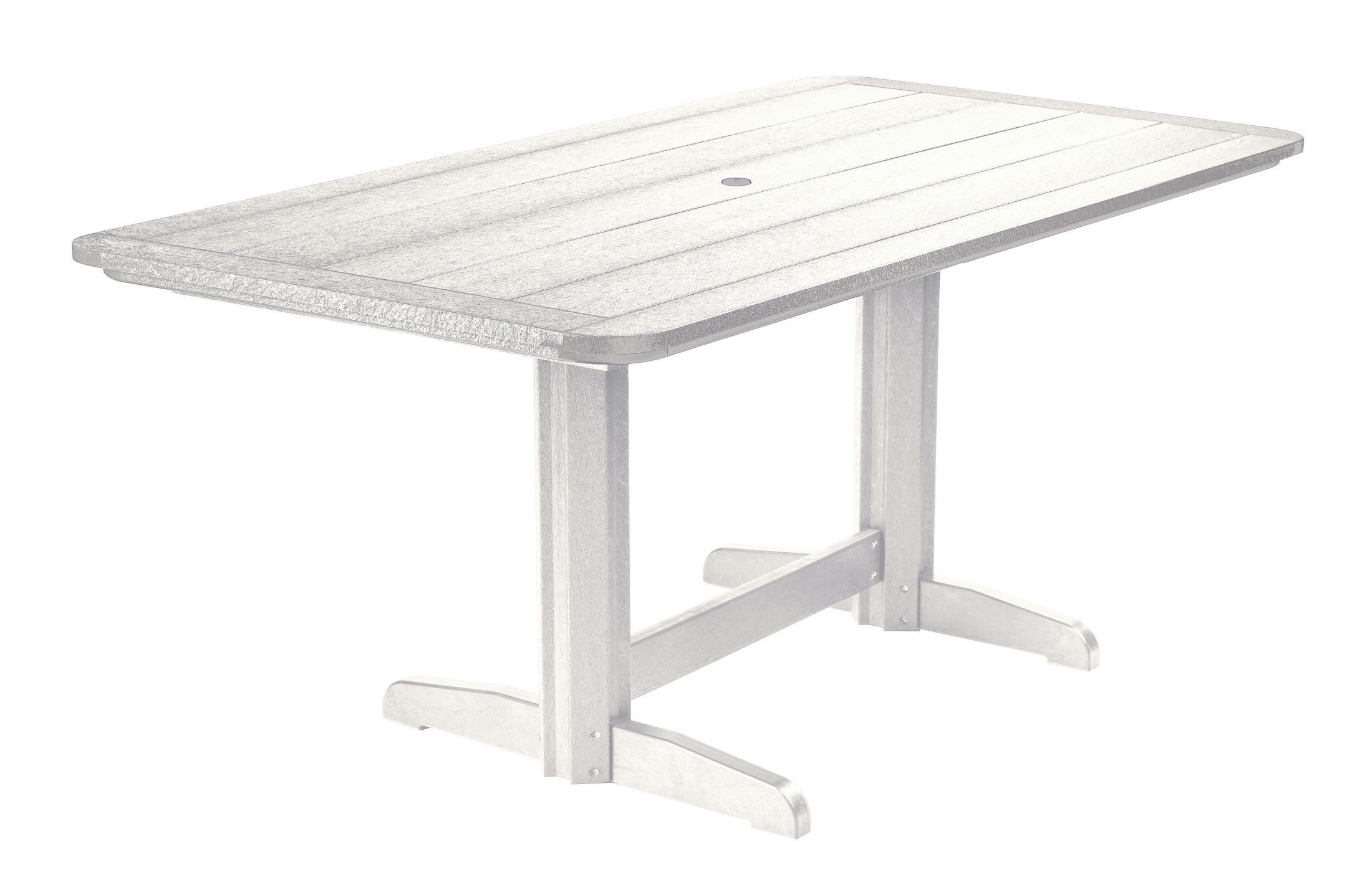 Generations White 36 Quot Double Pedestal Dining Table From Cr