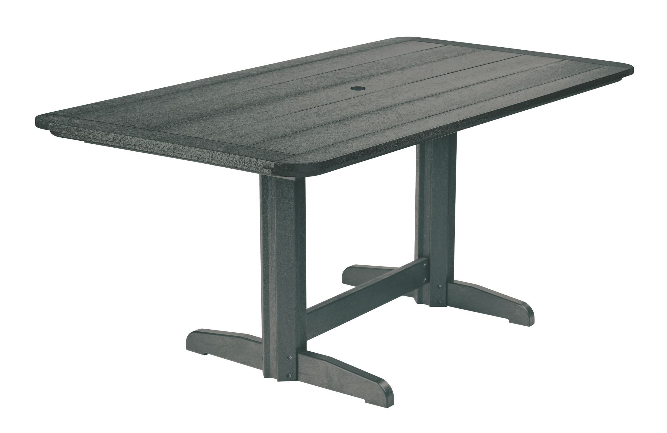 Generations Slate 36 Quot Double Pedestal Dining Table From Cr