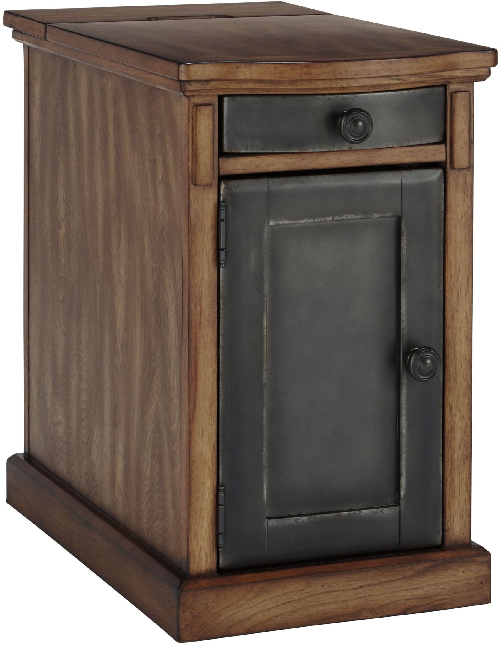 Laflorn Brown And Gray Chairside End Table From Ashley