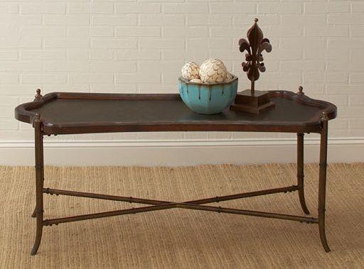 Ravenwood cherry rectangular cocktail table from largo for Rectangular cherry coffee table