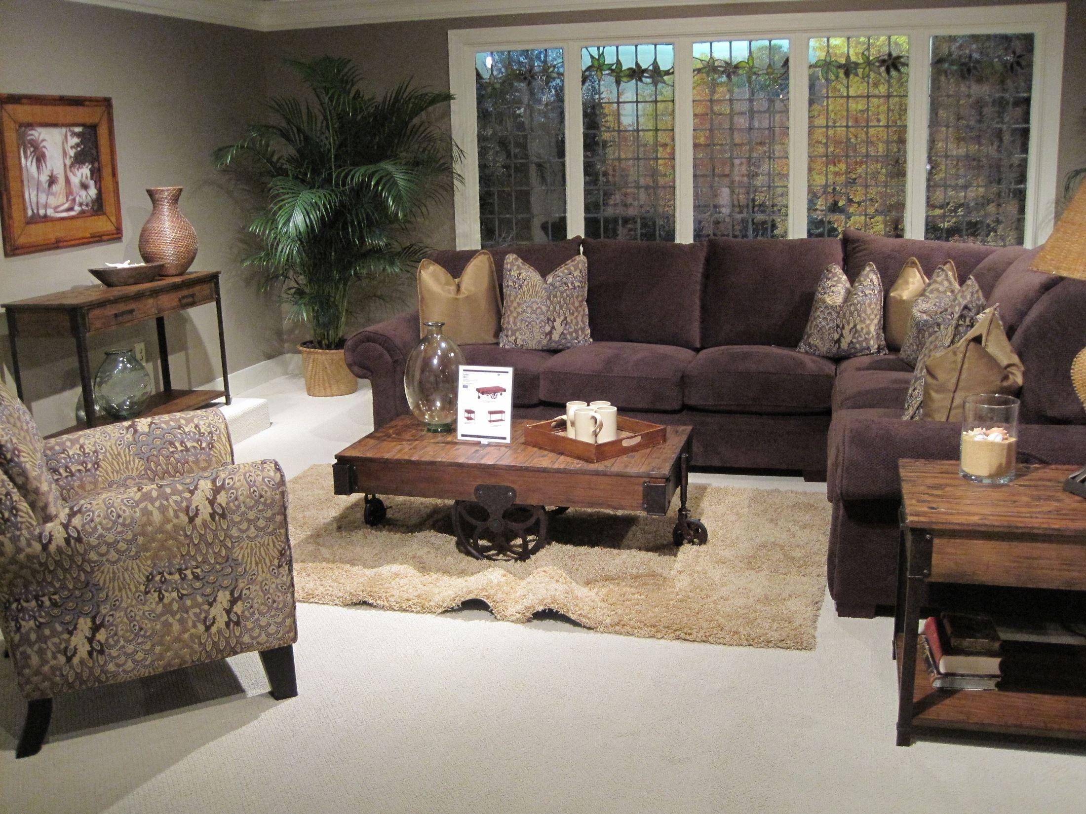 Larkin rectangular sofa table from magnussen home t2017 73 larkin rectangular sofa table geotapseo Choice Image