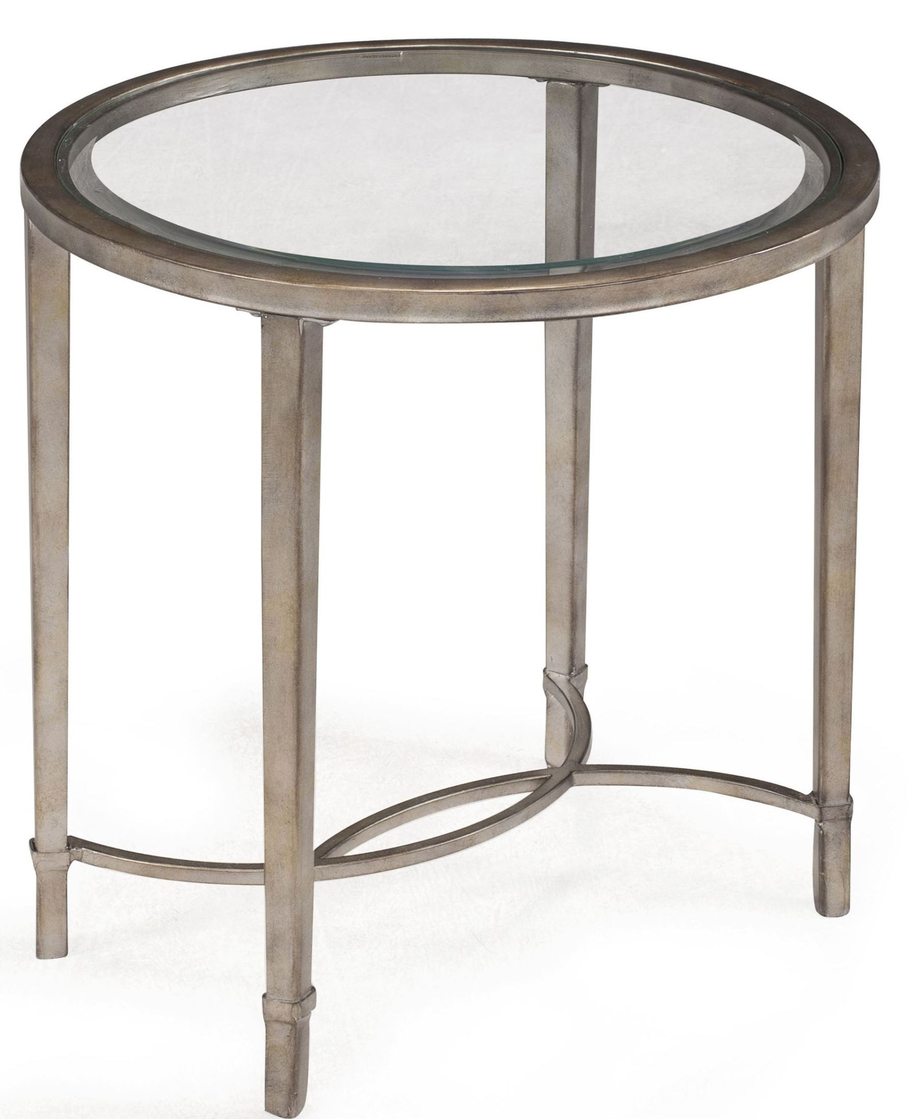 Copia oval end table from magnussen home t