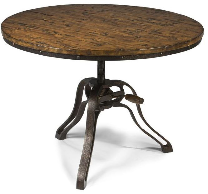 Magnussen Home Cranfill Round Cocktail Table