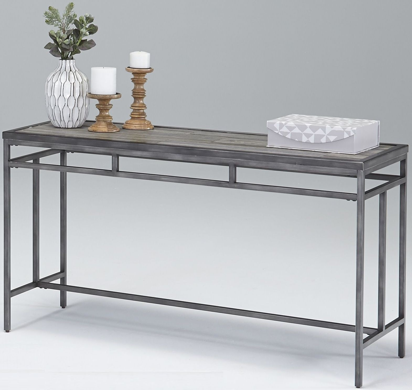 Tiled Console Table ~ Aurora sky tile console table from progressive furniture