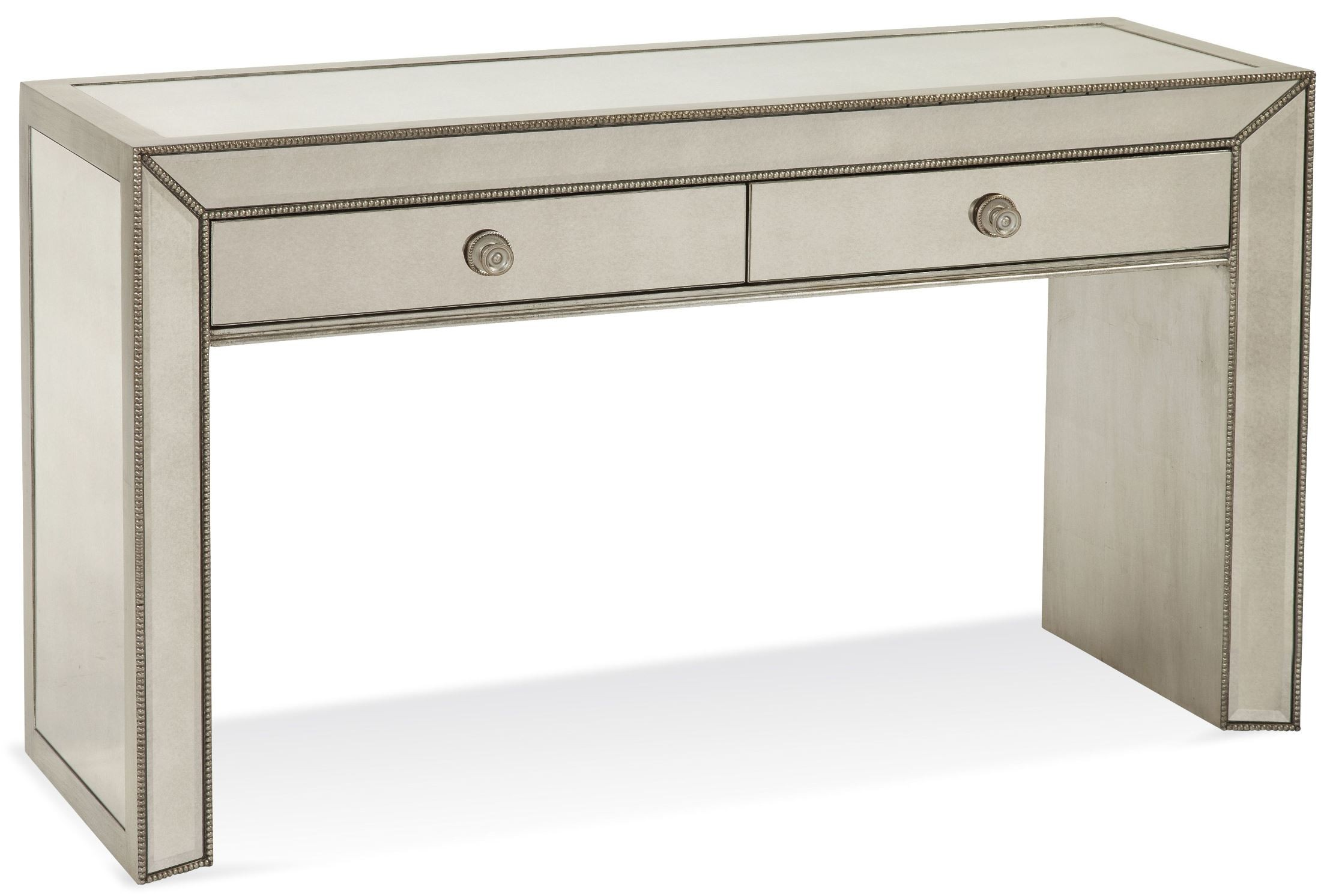 Murano Antique Mirrored Console Table From Bassett Mirror | Coleman  Furniture