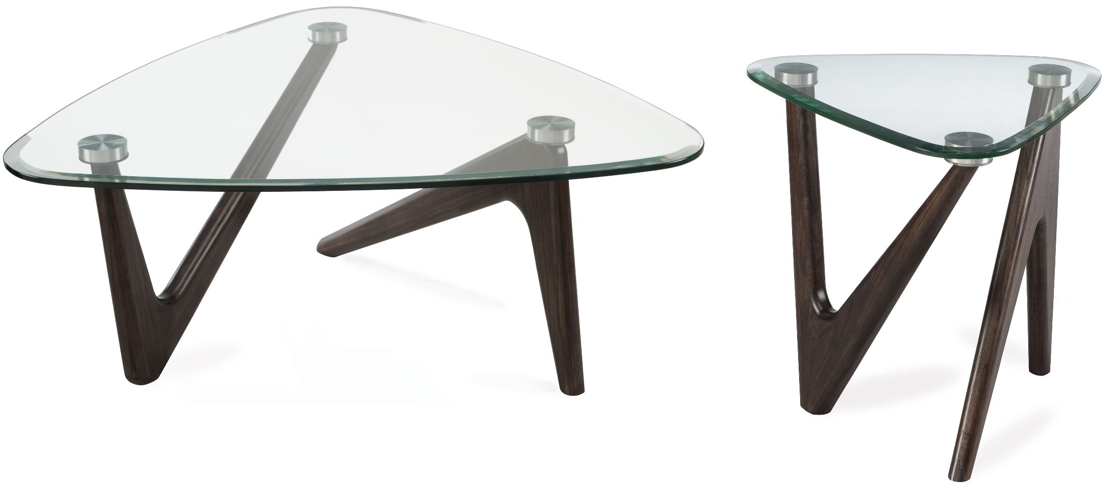 Garvin Distressed Nutmeg Cocktail Table Set From Magnussen Home Coleman Furniture