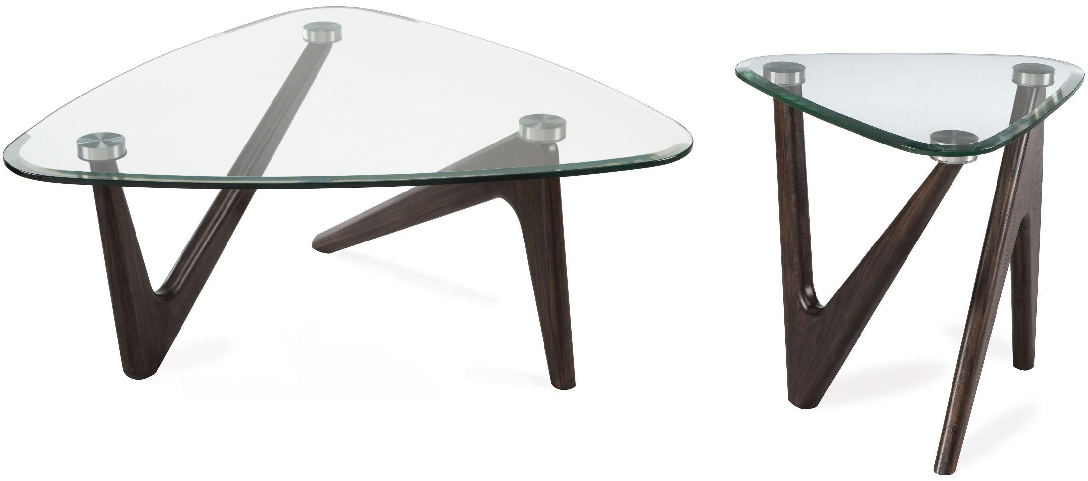 Garvin Distressed Nutmeg Cocktail Table Set From Magnussen Home Coleman Furniture