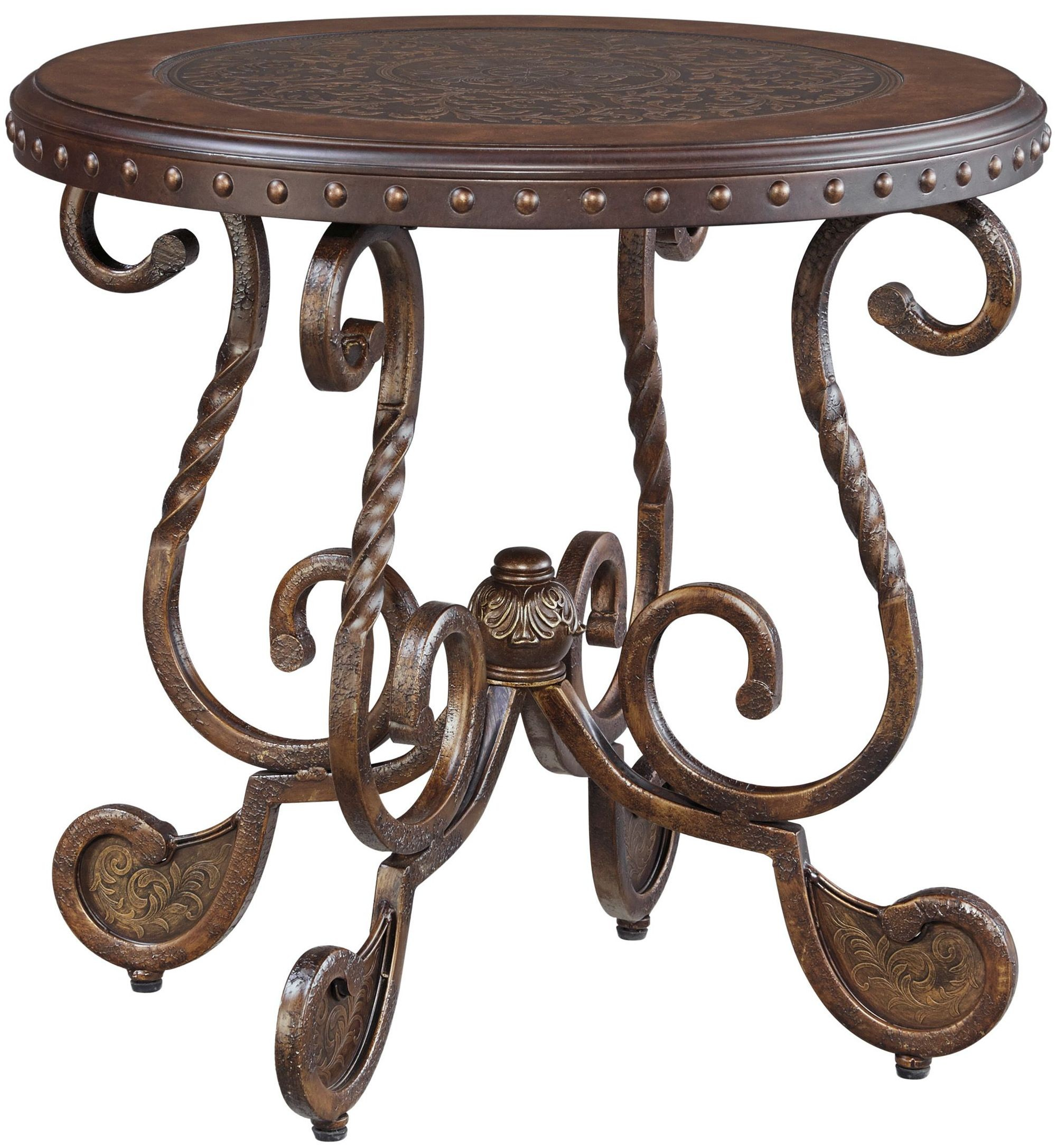 T517 0 Ashley Furniture Nestor: Rafferty End Table From Ashley (T382-6)
