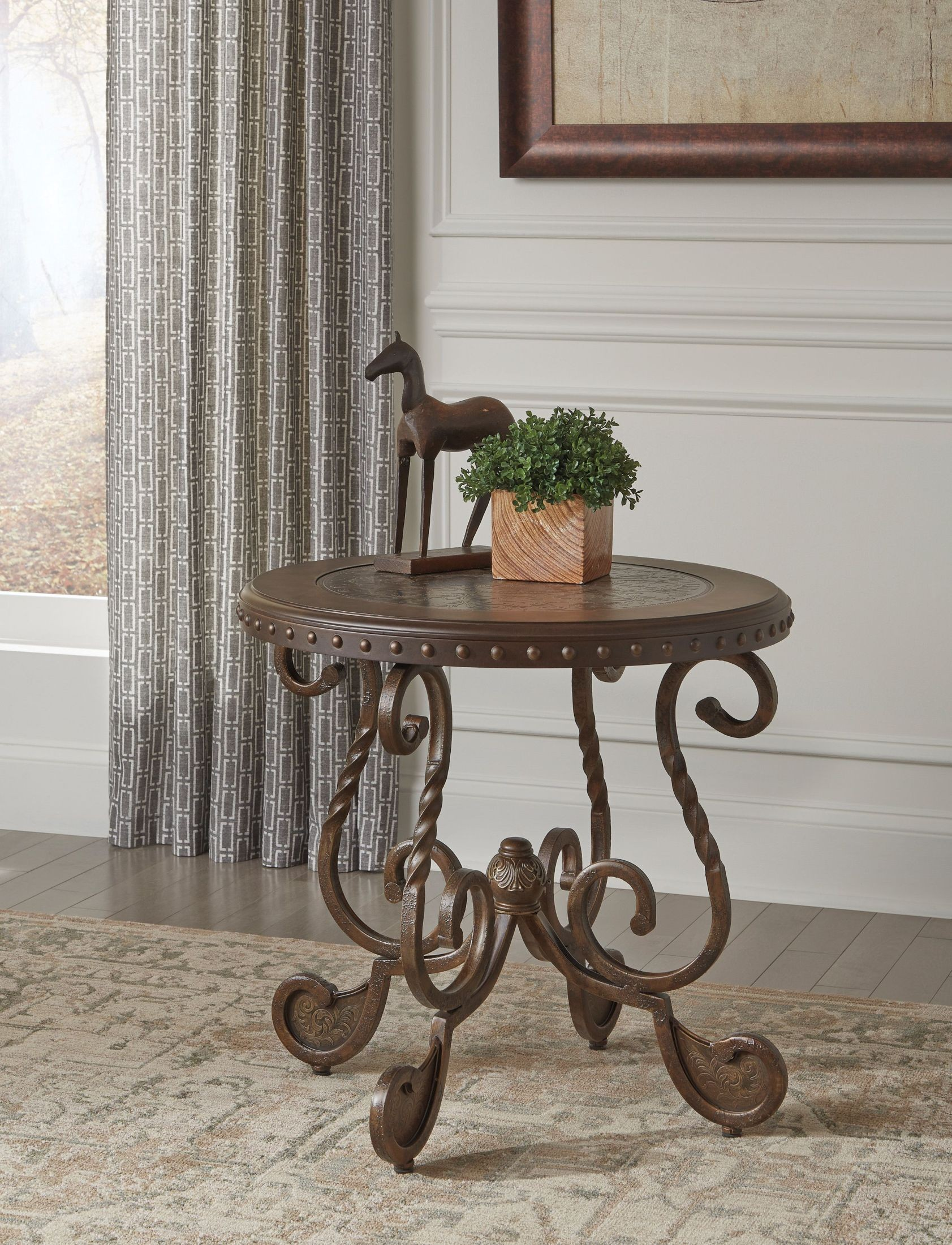 Rafferty End Table From Ashley T382 6 Coleman Furniture