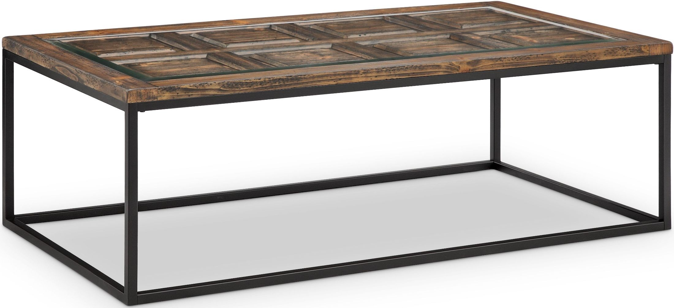 Rochester Burnished Brown Rectangular Cocktail Table from