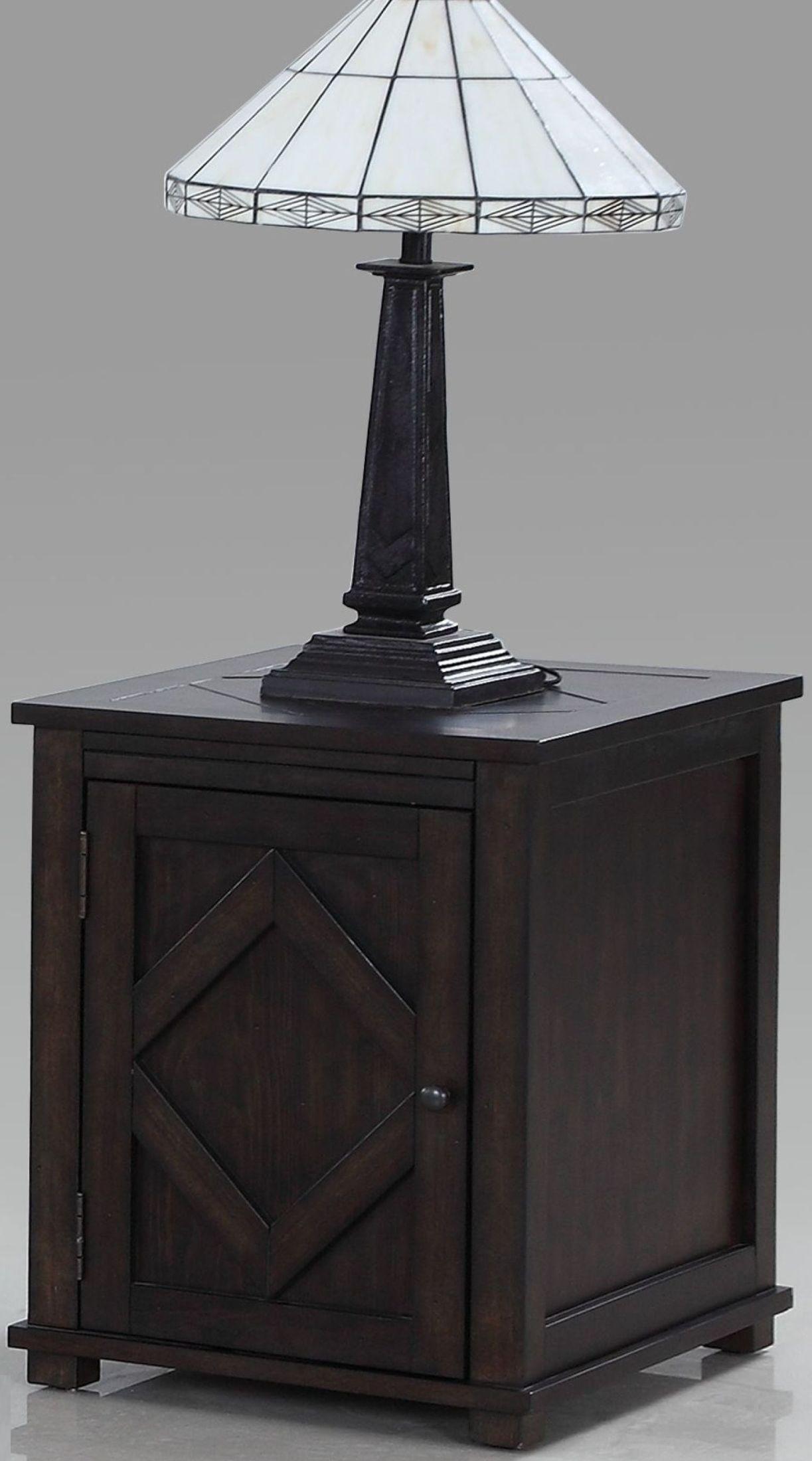 Genial Foxcroft Distressed Dark Pine Chairside Cabinet From Progressive Furniture  | Coleman Furniture
