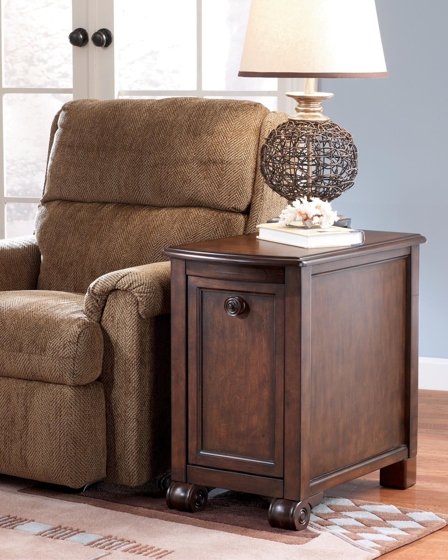 Brookfield Chairside End Table From Ashley T496 7