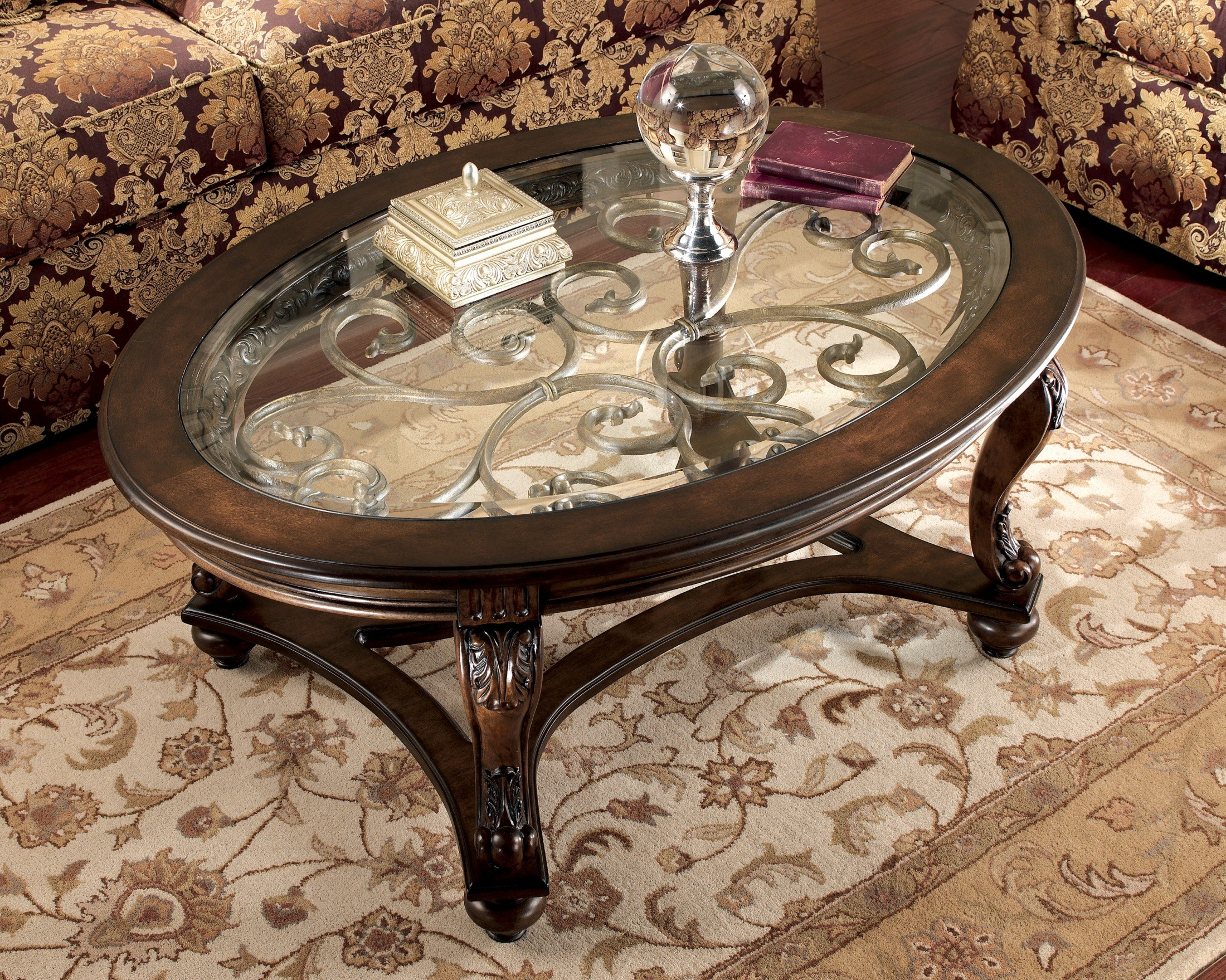 Norcastle Coffee Table from Ashley T4990 Coleman Furniture