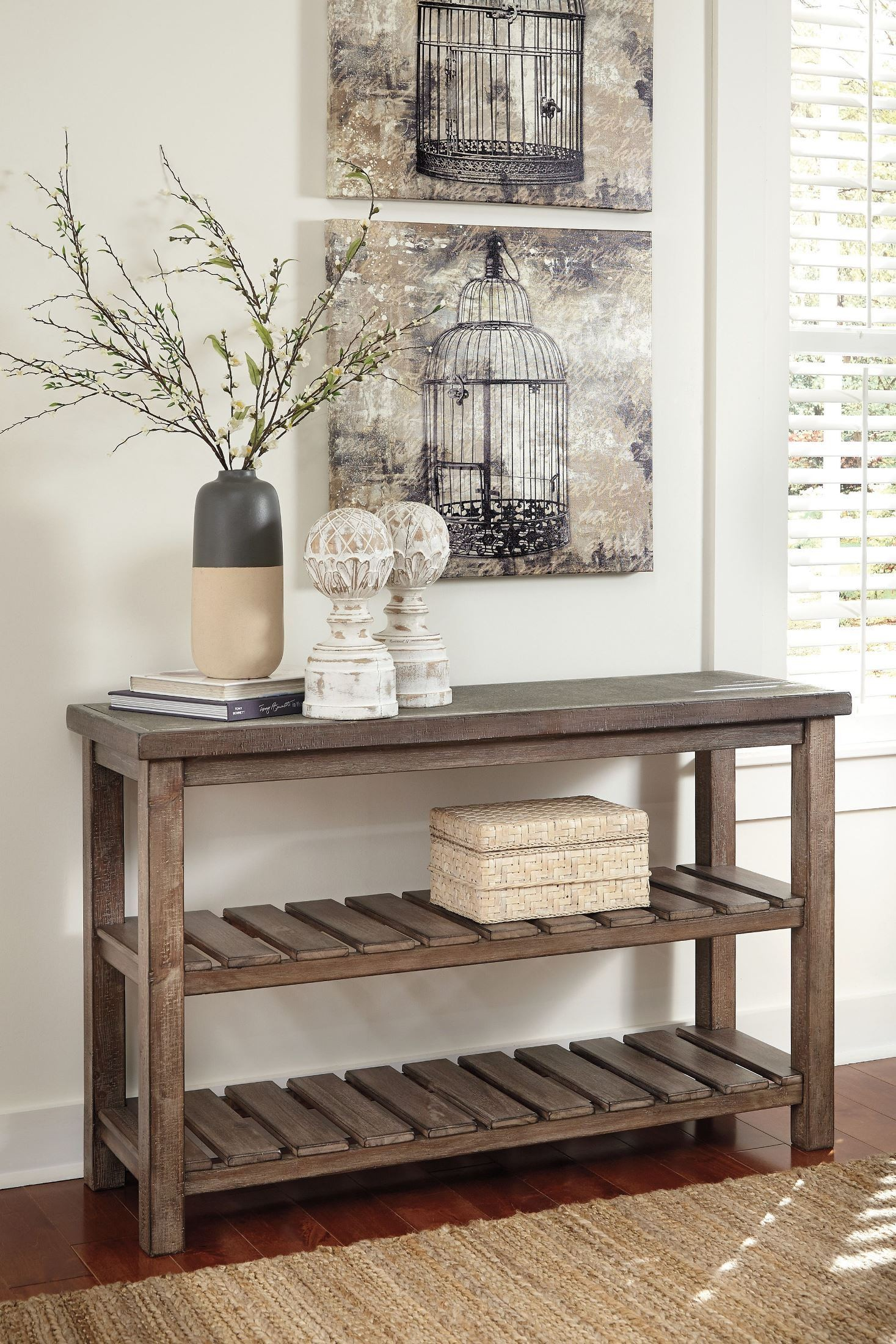 Vennilux Sofa Table From Ashley T500 104 Coleman Furniture