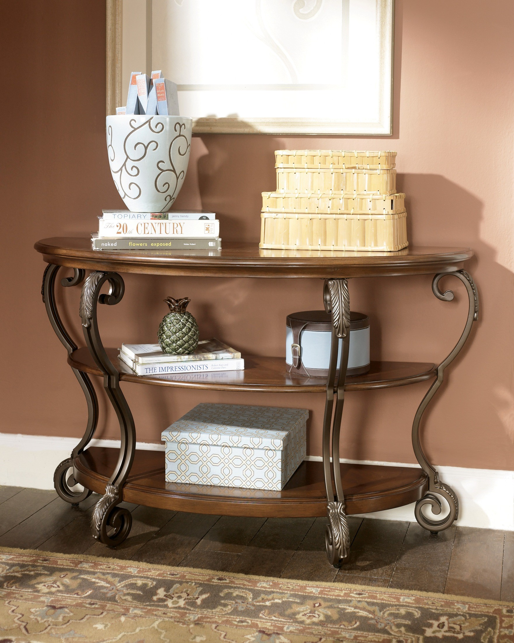 Nestor sofa table from ashley t517 4 coleman furniture x nestor sofa table watchthetrailerfo