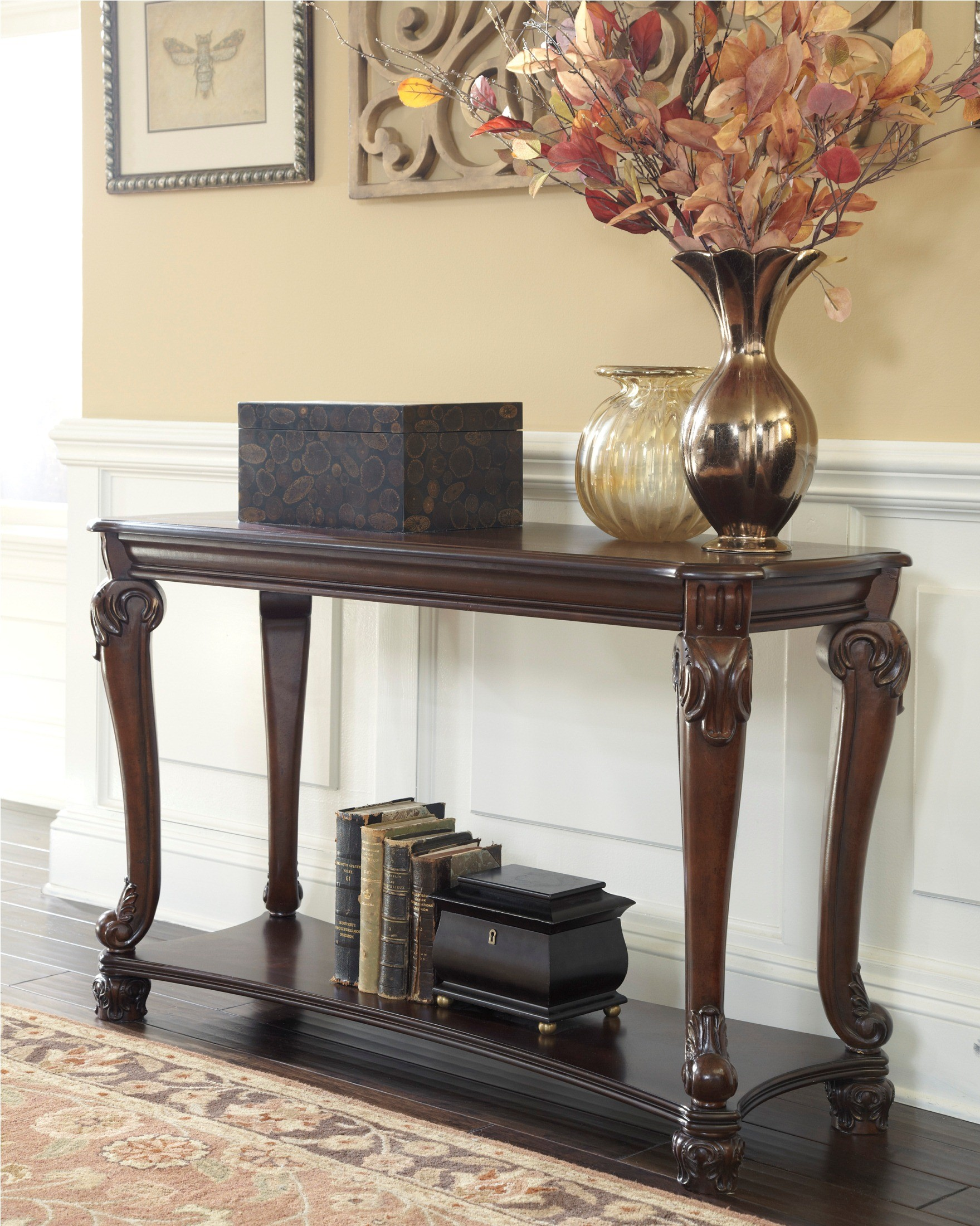 Norcastle sofa console table from ashley t519 4 coleman furniture 340015 geotapseo Gallery