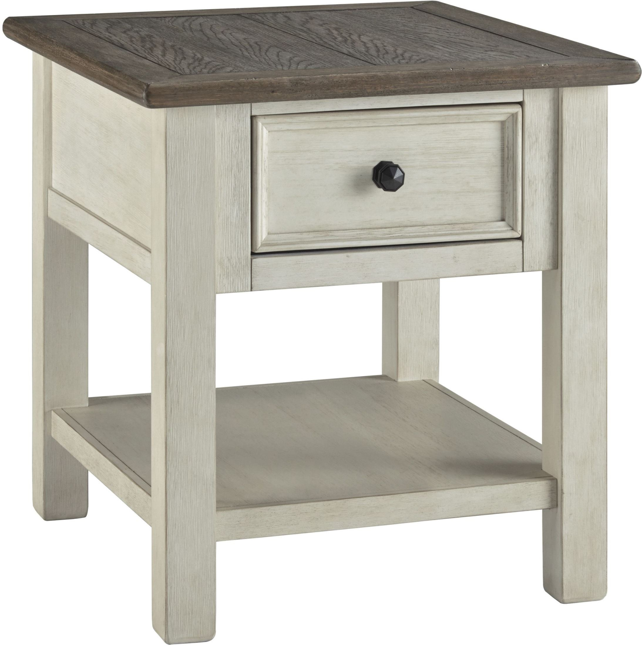 bolanburg weathered gray rectangular end table from ashley. Black Bedroom Furniture Sets. Home Design Ideas