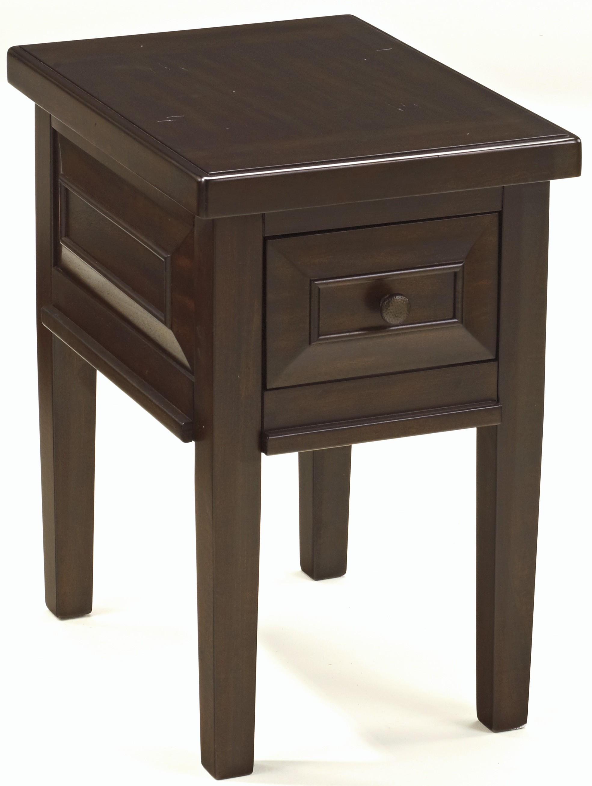 Hindell park chair side end table from ashley t695 7 for Chairside table
