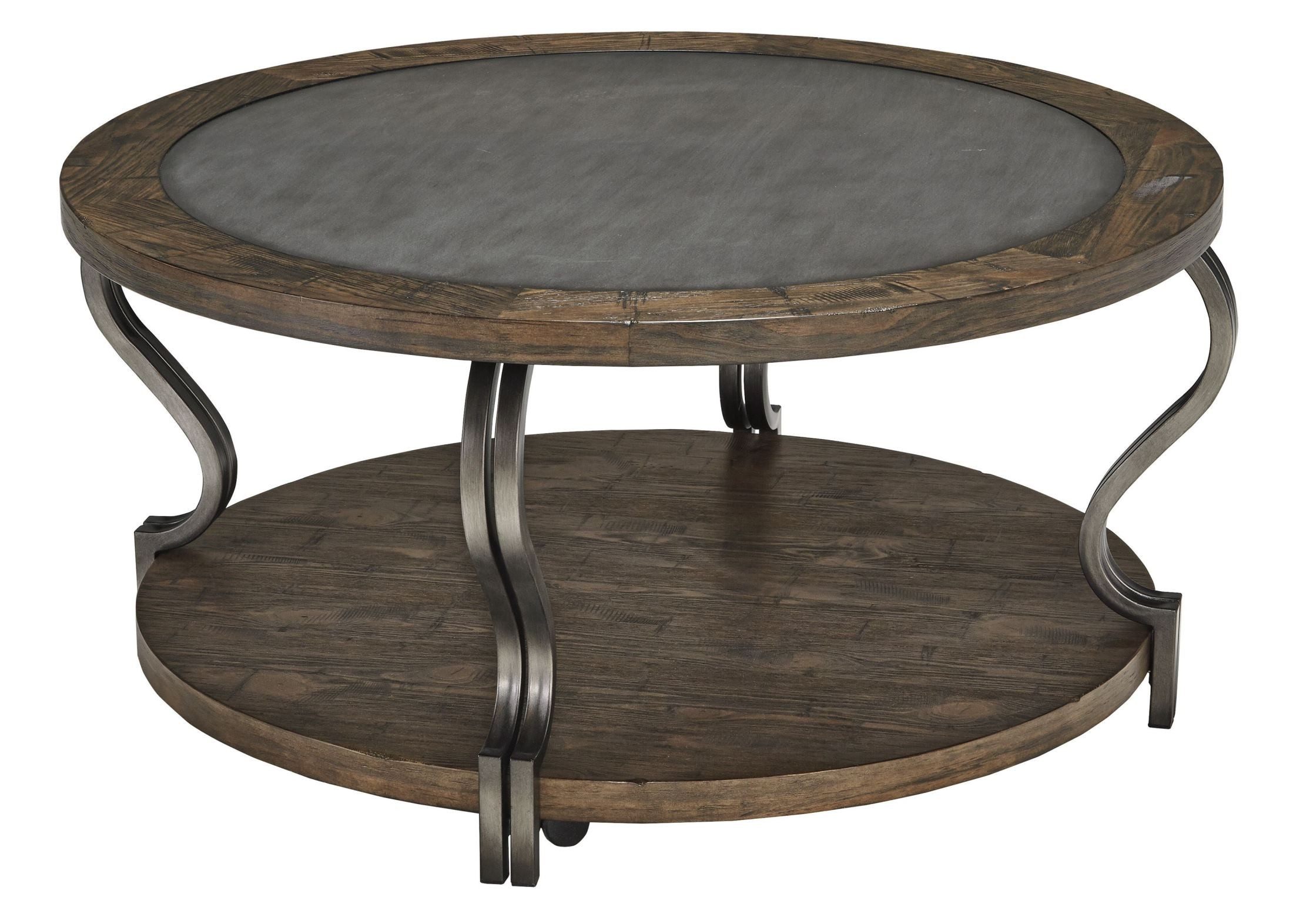 Volanta Round Cocktail Table From Ashley T739 8
