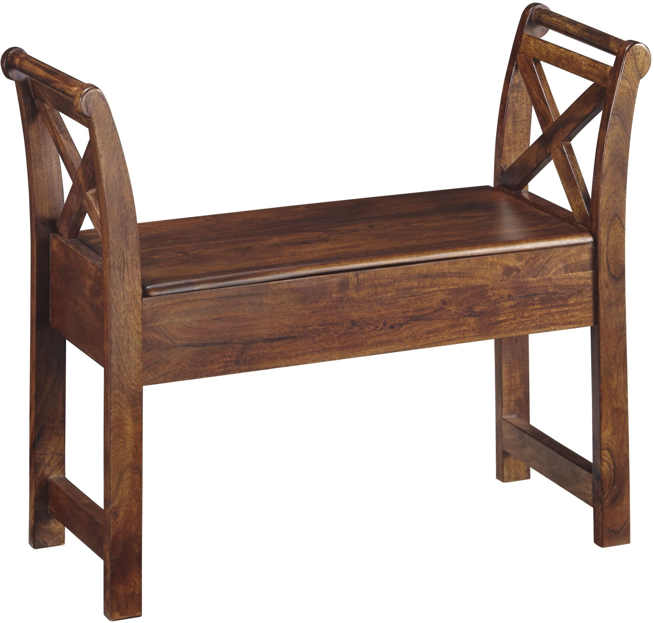 Abbonto Warm Brown Accent Bench From Ashley Coleman Furniture