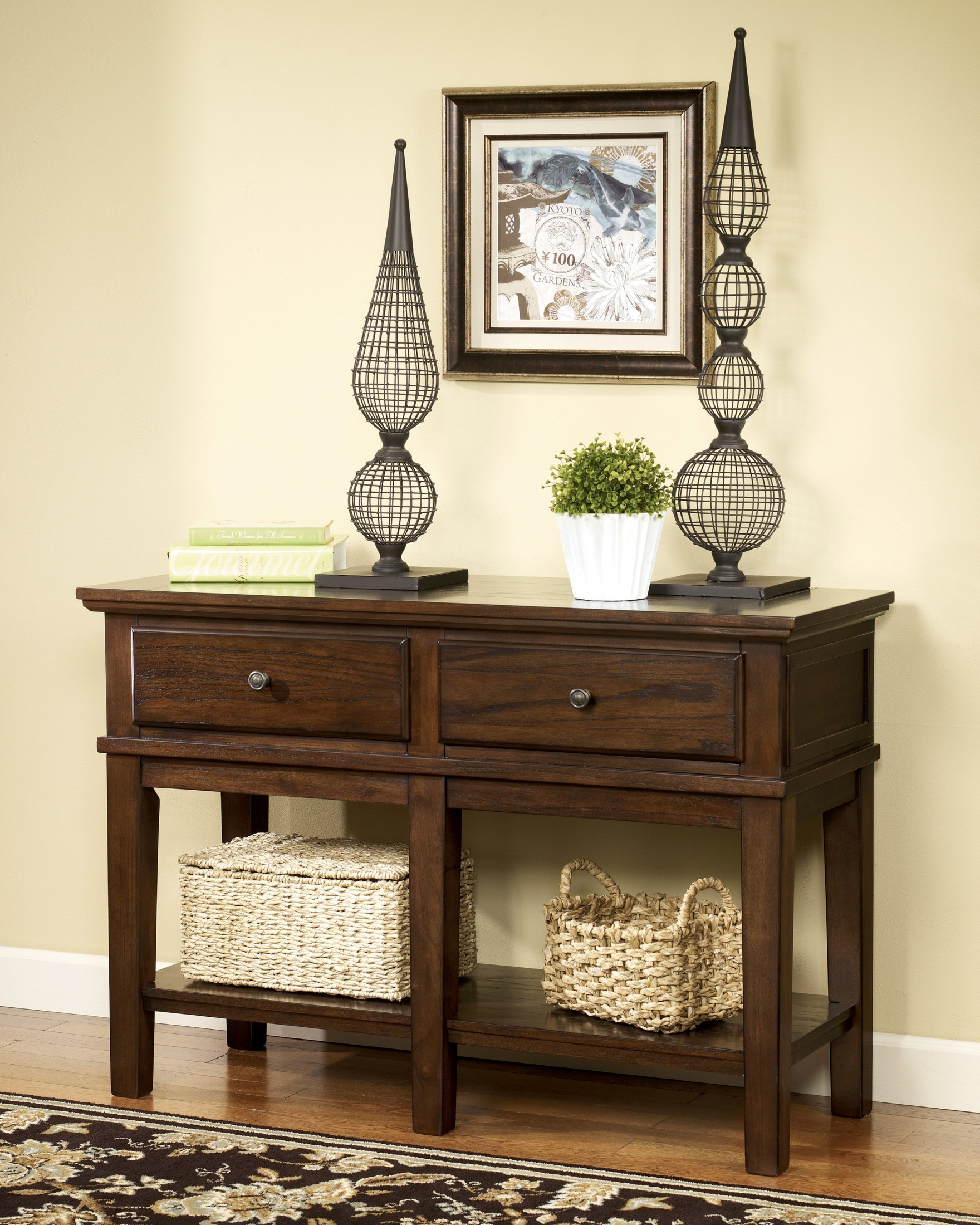 Gately Console Sofa Table From Ashley (T845-4)