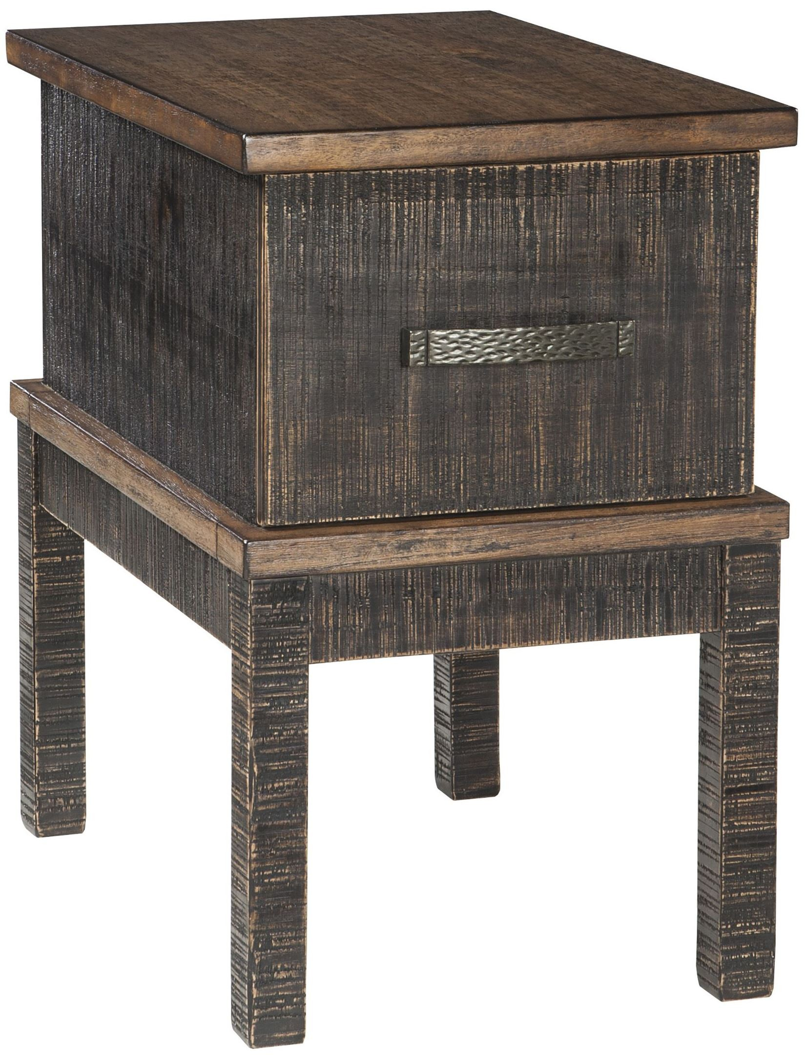 Stanah Two Tone Chair Side End Table