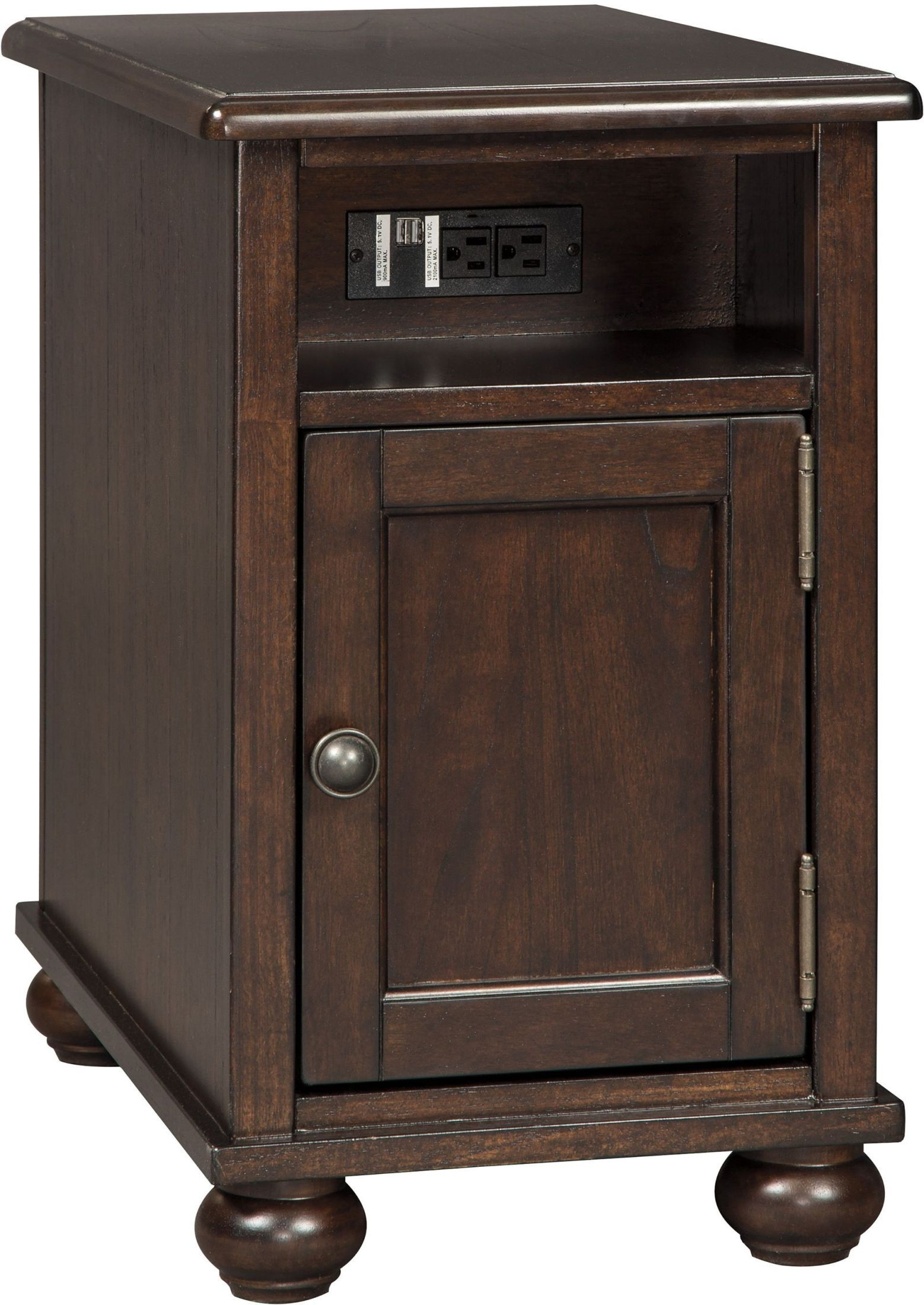Barilanni Dark Brown Chairside End Table From Ashley
